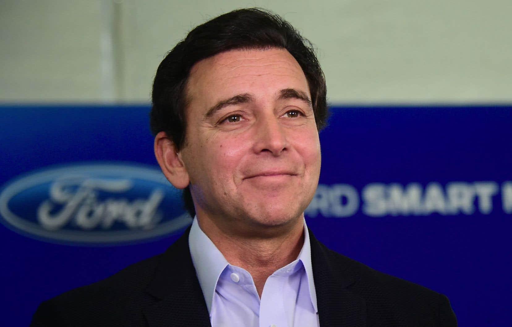 Mark Fields, président de Ford