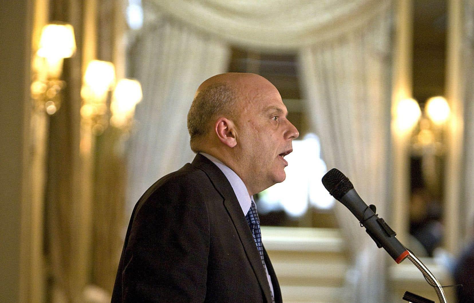 Mario Albert, directeur général de Finance Montréal