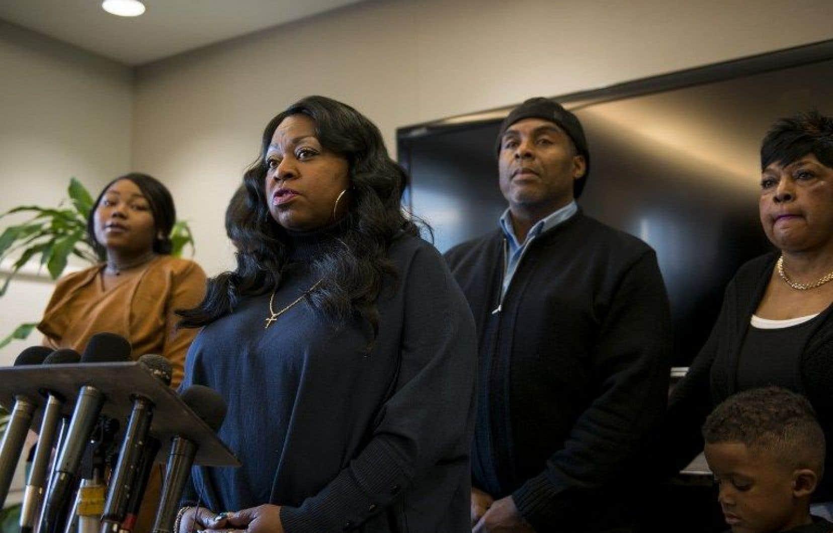 La famille de Philando Castile s'est réjouie des conclusions du procureur.