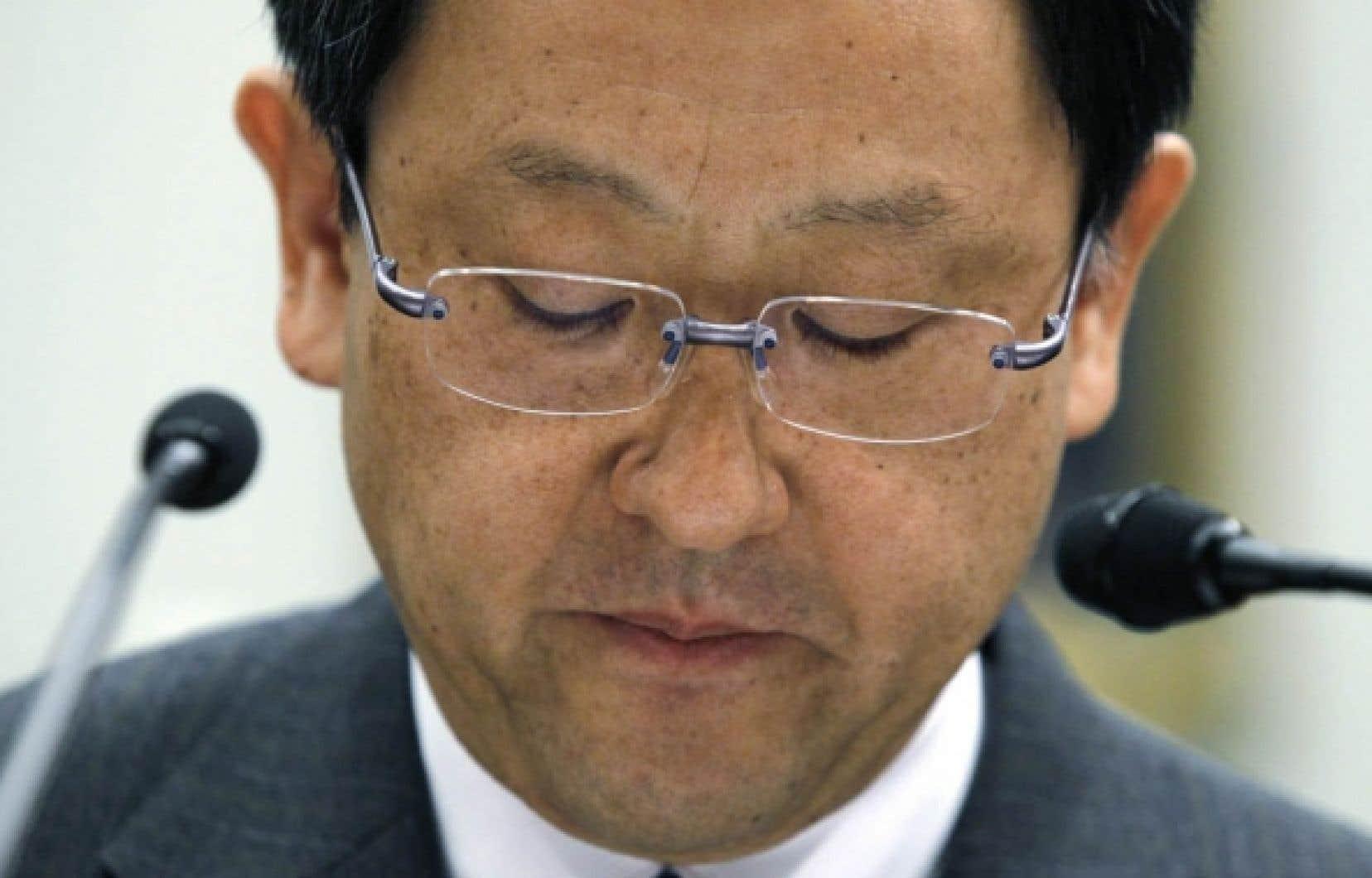 Akio Toyoda, président de Toyota