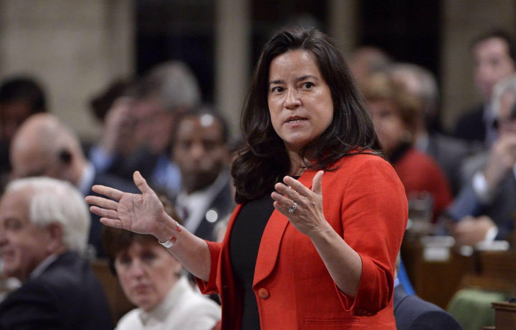 La ministre de la Justice du Canada, Jody Wilson-Raybould
