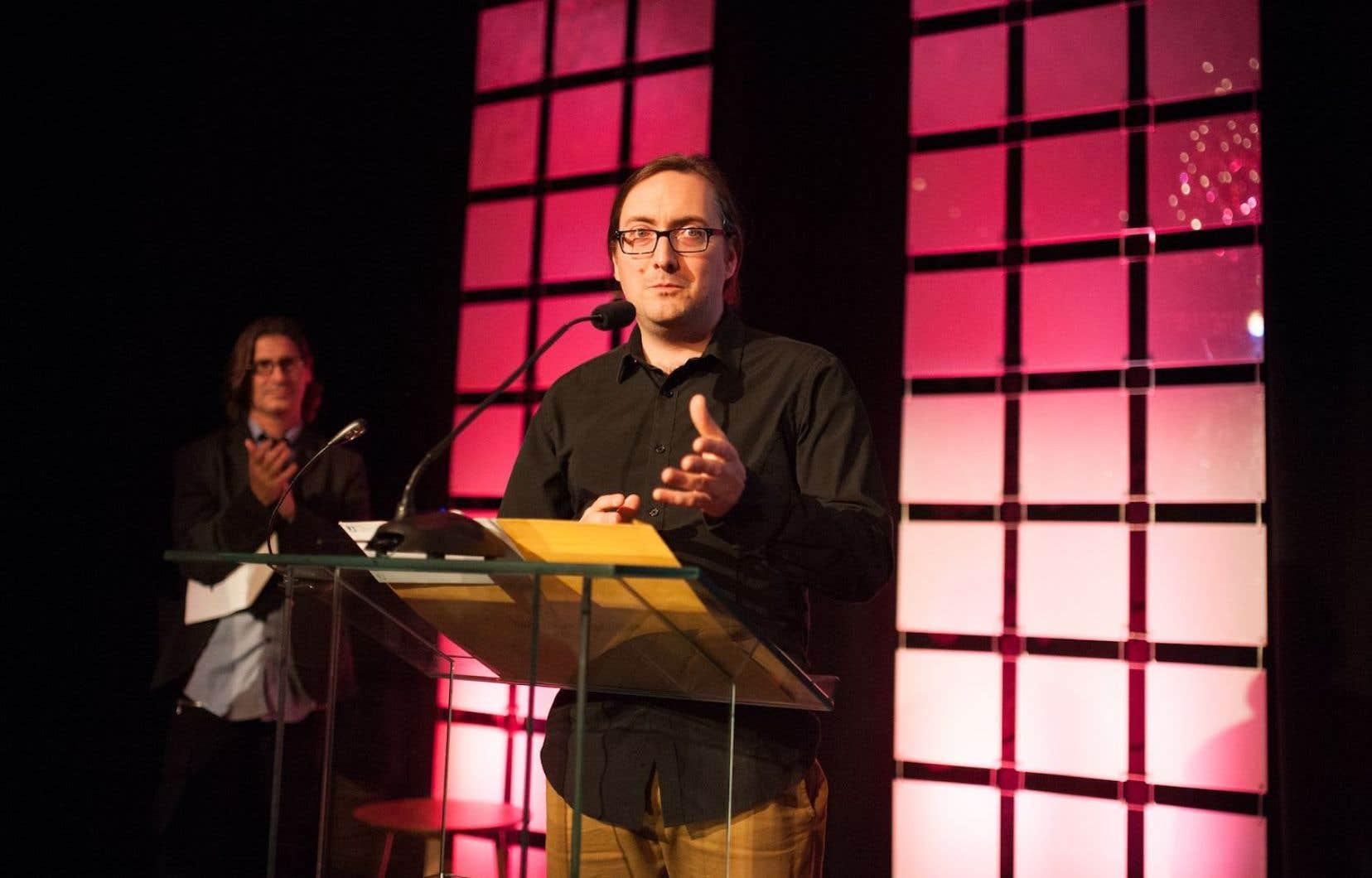 Alexandre Shields, journaliste spécialisé en environnement au «Devoir»