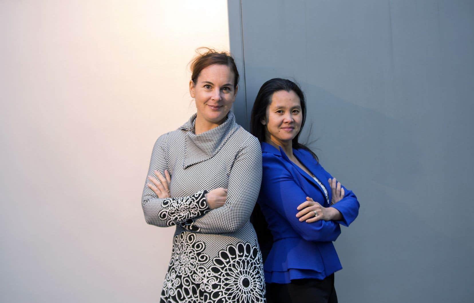 Marie-Hélène Panisset et Thi Be Nguyen