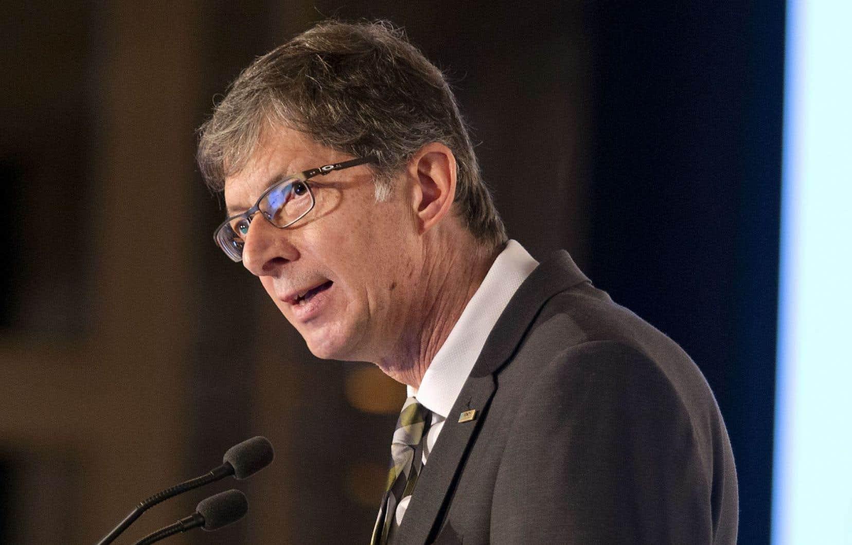 Le président du Fonds de solidarité FTQ, Gaétan Morin, estime que la diminution de sièges sociaux au Québec demeure préoccupante.