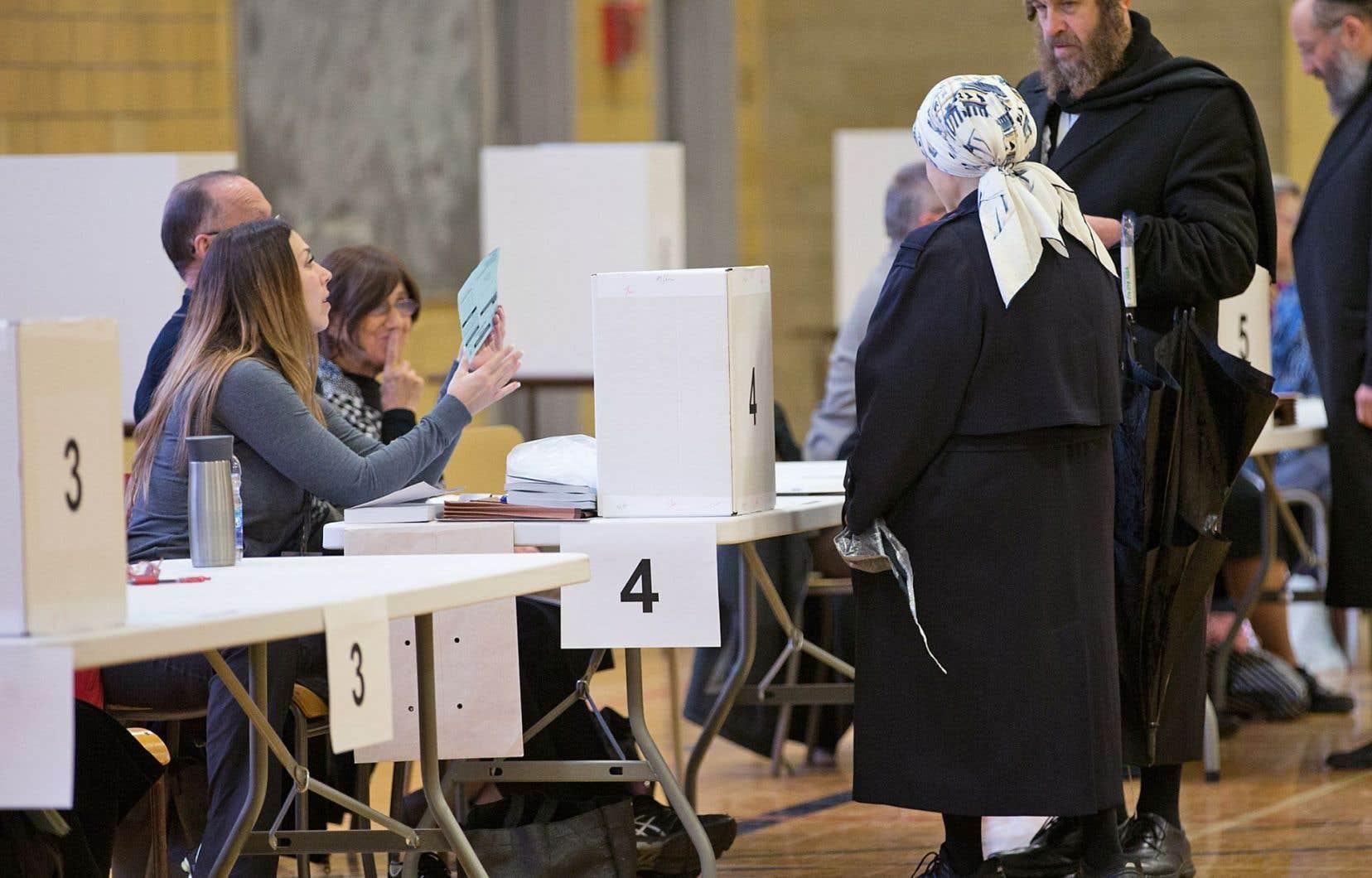 Le référendum tenu dimanche sondait la population d'Outremont sur l'interdiction des lieux de culte sur l'avenue Bernard.