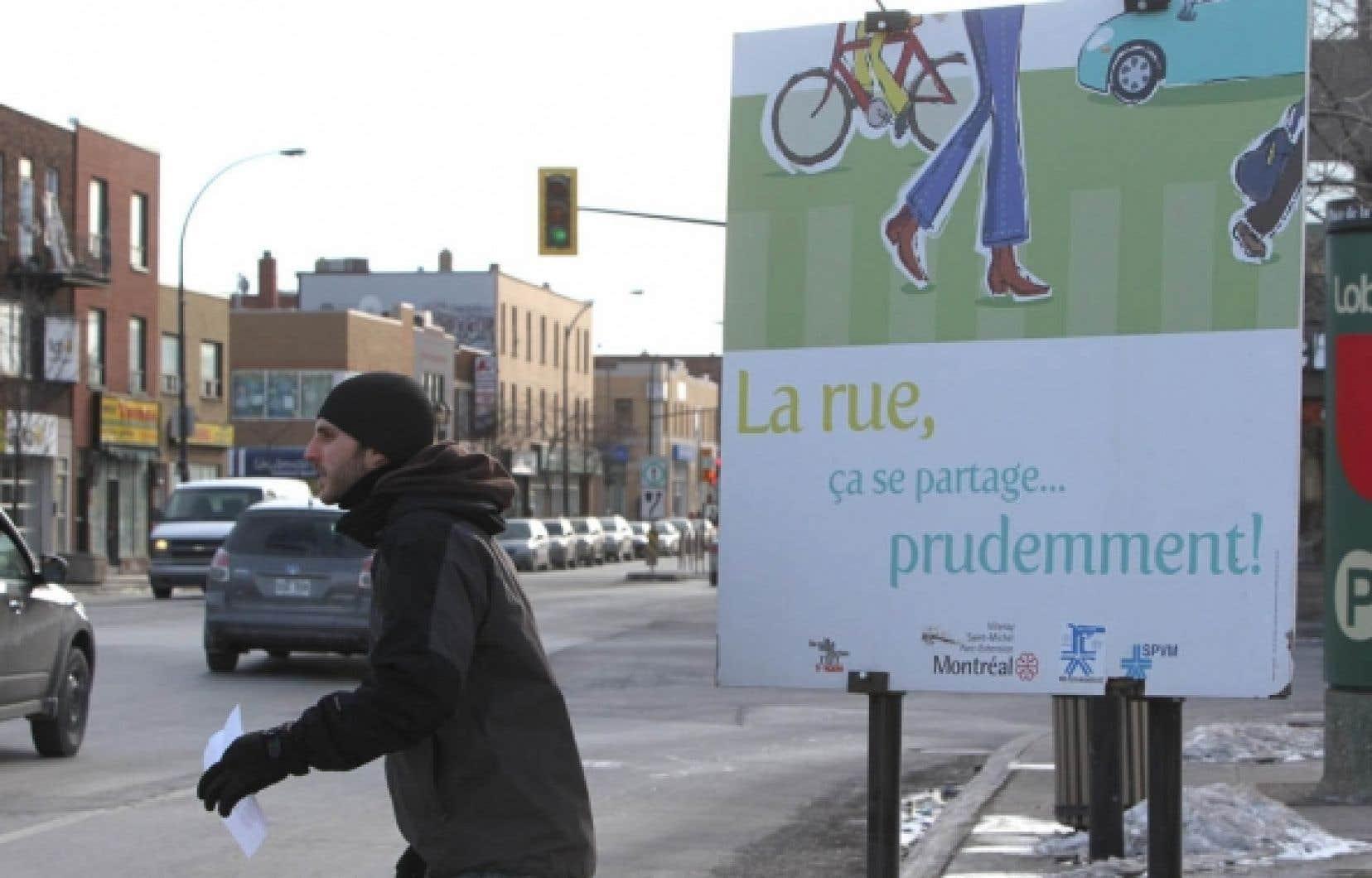 En 2009, la route a fait 33 morts à Montréal, dont 18 piétons, soit le même nombre que l'année précédente.