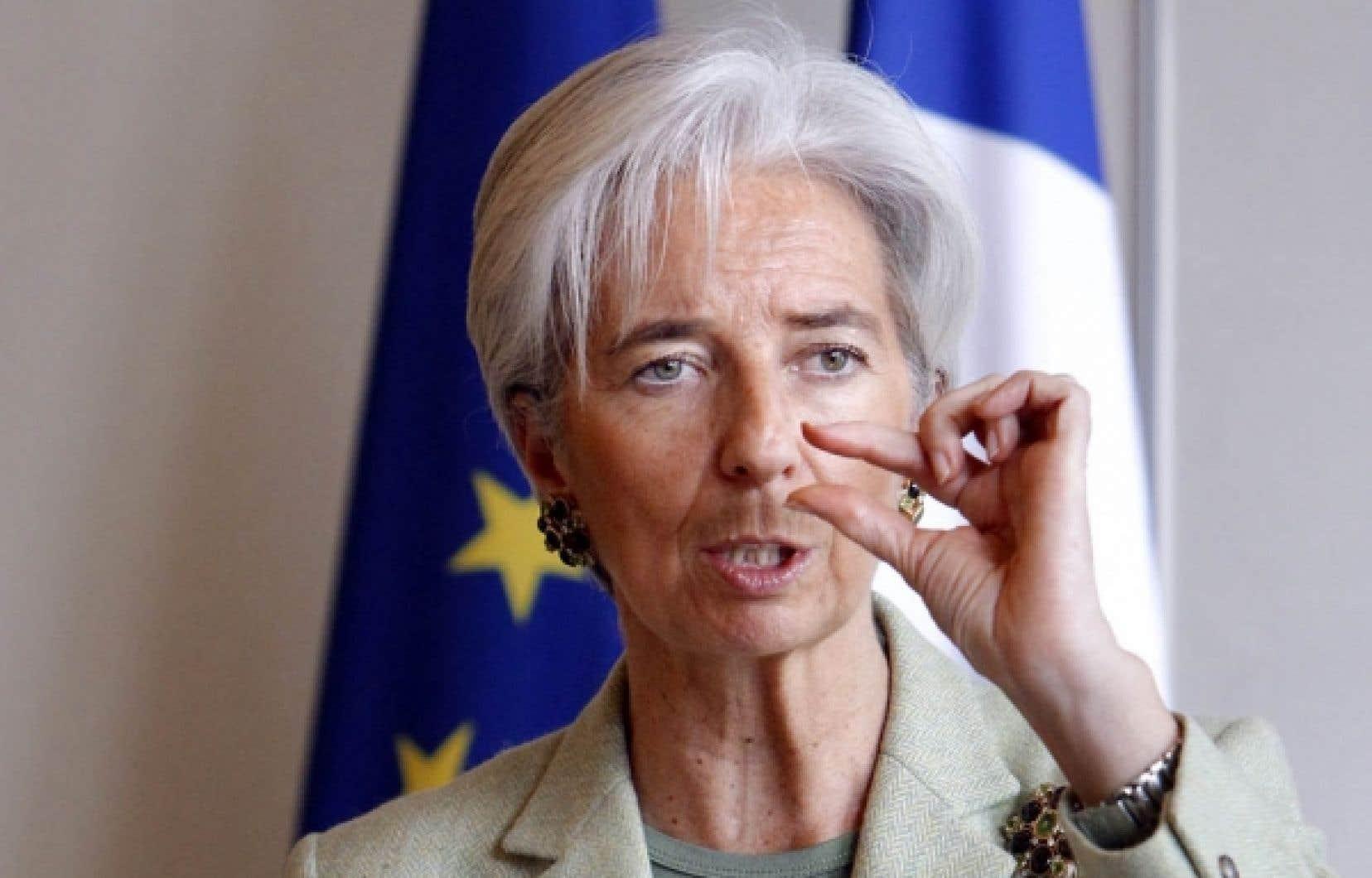 Laministrefrançaisede l'Économie, Christine Lagarde