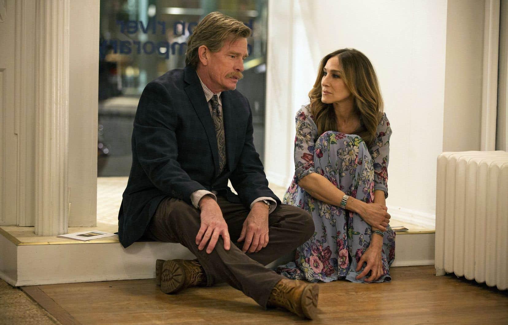 Thomas Haden Church et Sarah Jessica Parker dans la série «Divorce» qui décortique le phénomène par le menu détail.