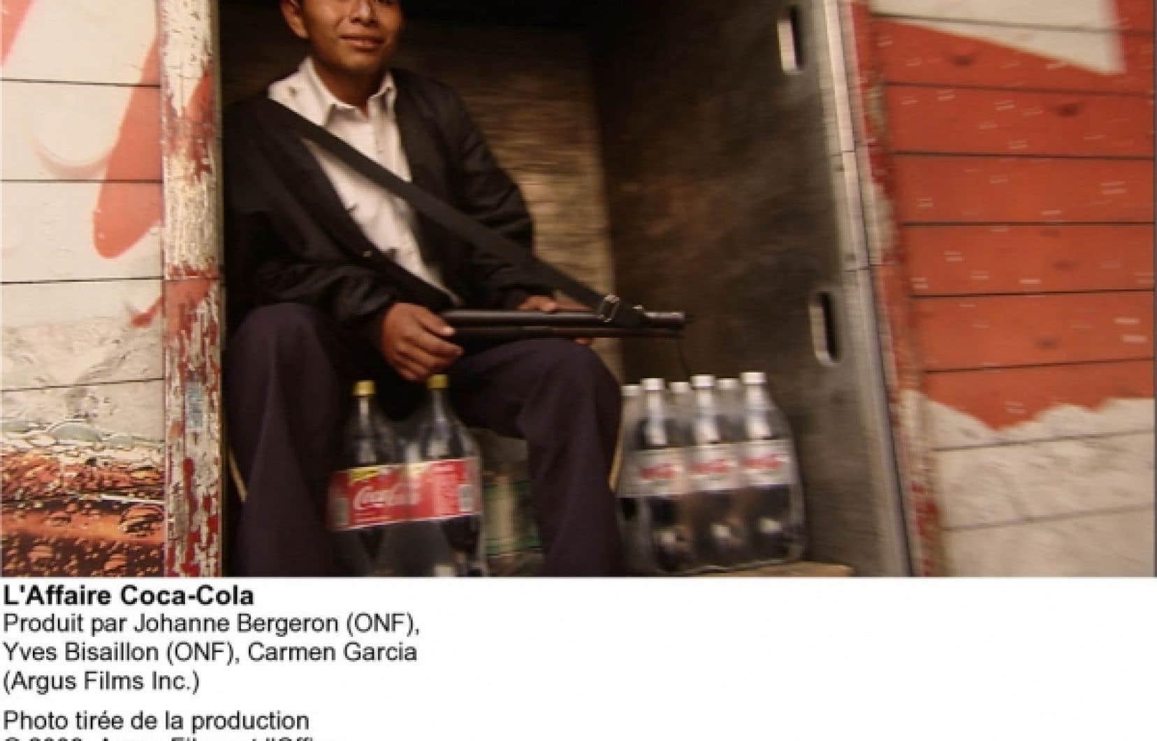 L'Affaire Coca-Cola a été tourné sur une longue période et aux quatre coins des Amériques.