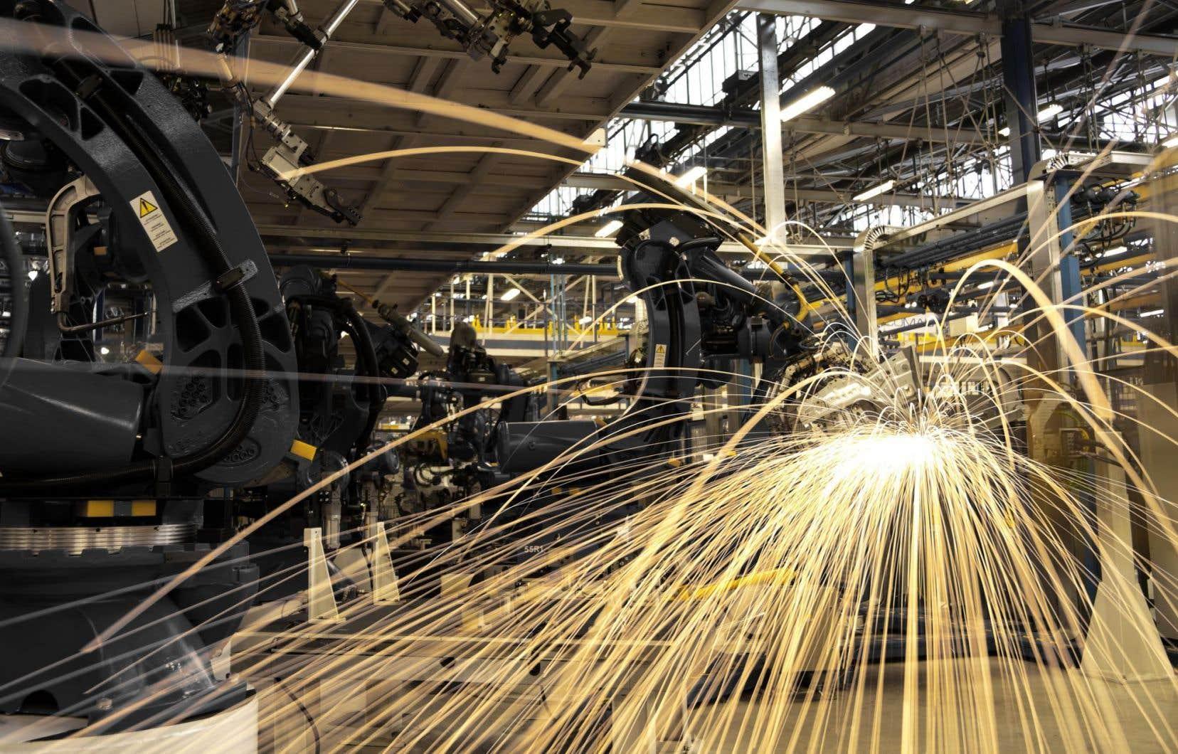 La quatrième révolution industrielle s'appuie sur la force d'Internet, de l'automatisation et de l'analyse de données.