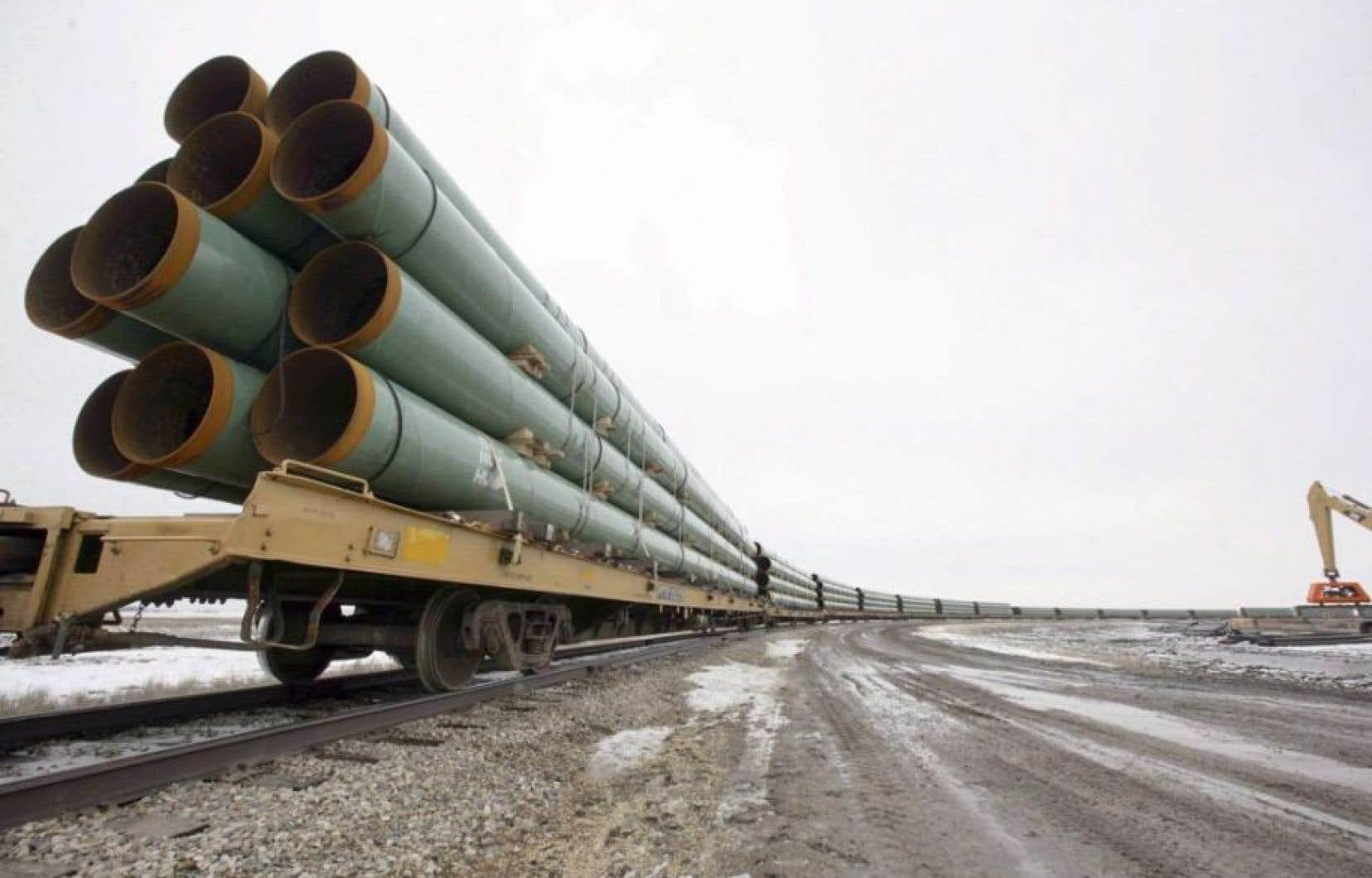 Avec l'obtention de certaines autorisations et l'ajout de stations de pompage, le pipeline aurait le potentiel de canaliser jusqu'à 915000 barils de pétrole brut par jour.
