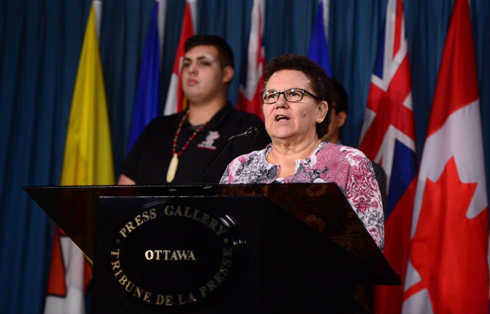 La chef Thomas a promis de poursuivre le dialogue avec Ottawa, sous une forme ou une autre, sans causer de préjudices au reste du Canada ou aux individus.