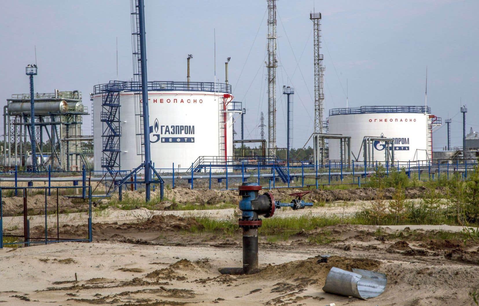 La production de pétrole russe a beaucoup augmenté ces dernières années.