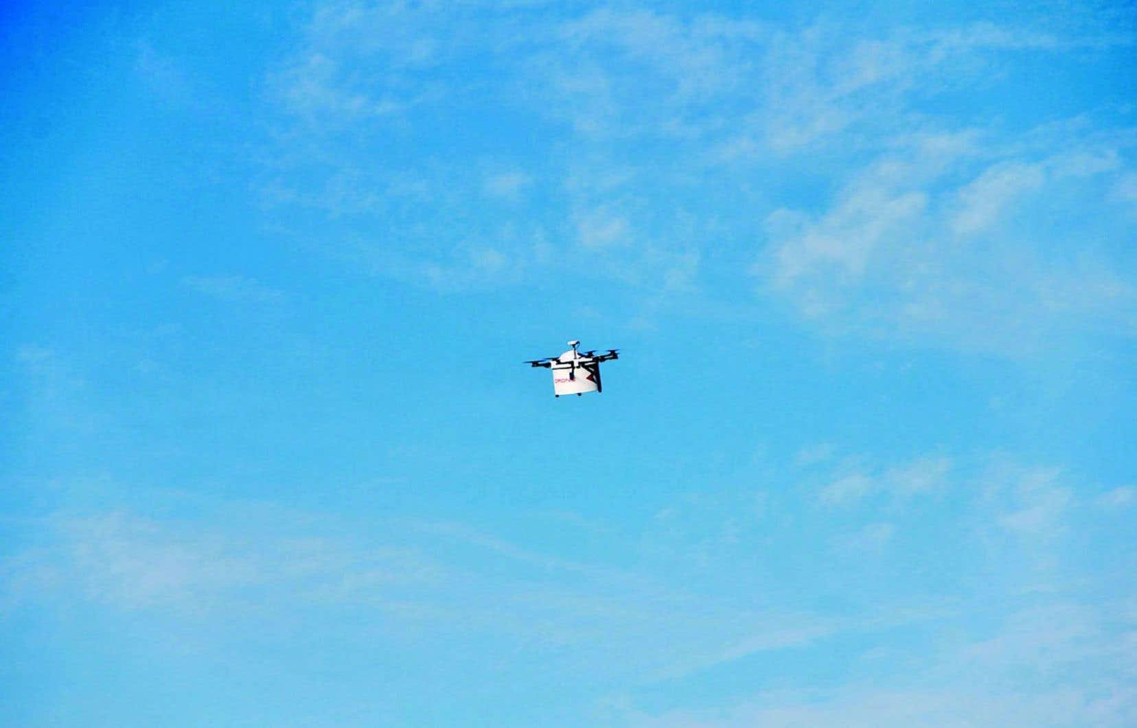 Drone Delivery Canada développe des plateformes pour drones commerciaux.