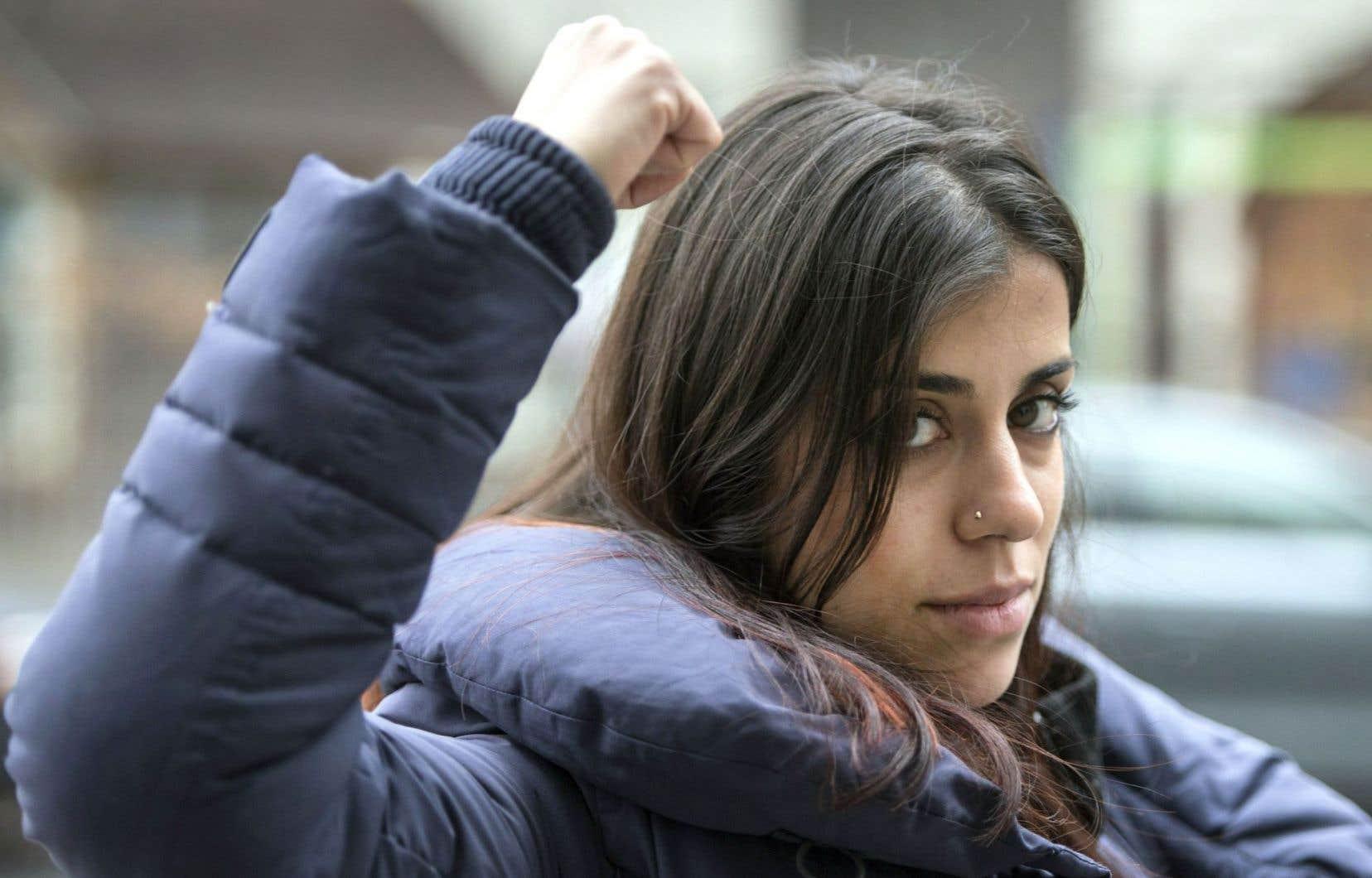 Neda Topaloski a plaidé non coupable aux accusations de méfait et de trouble de l'ordre public pour son action lors des festivités du Grand Prix, en 2015.