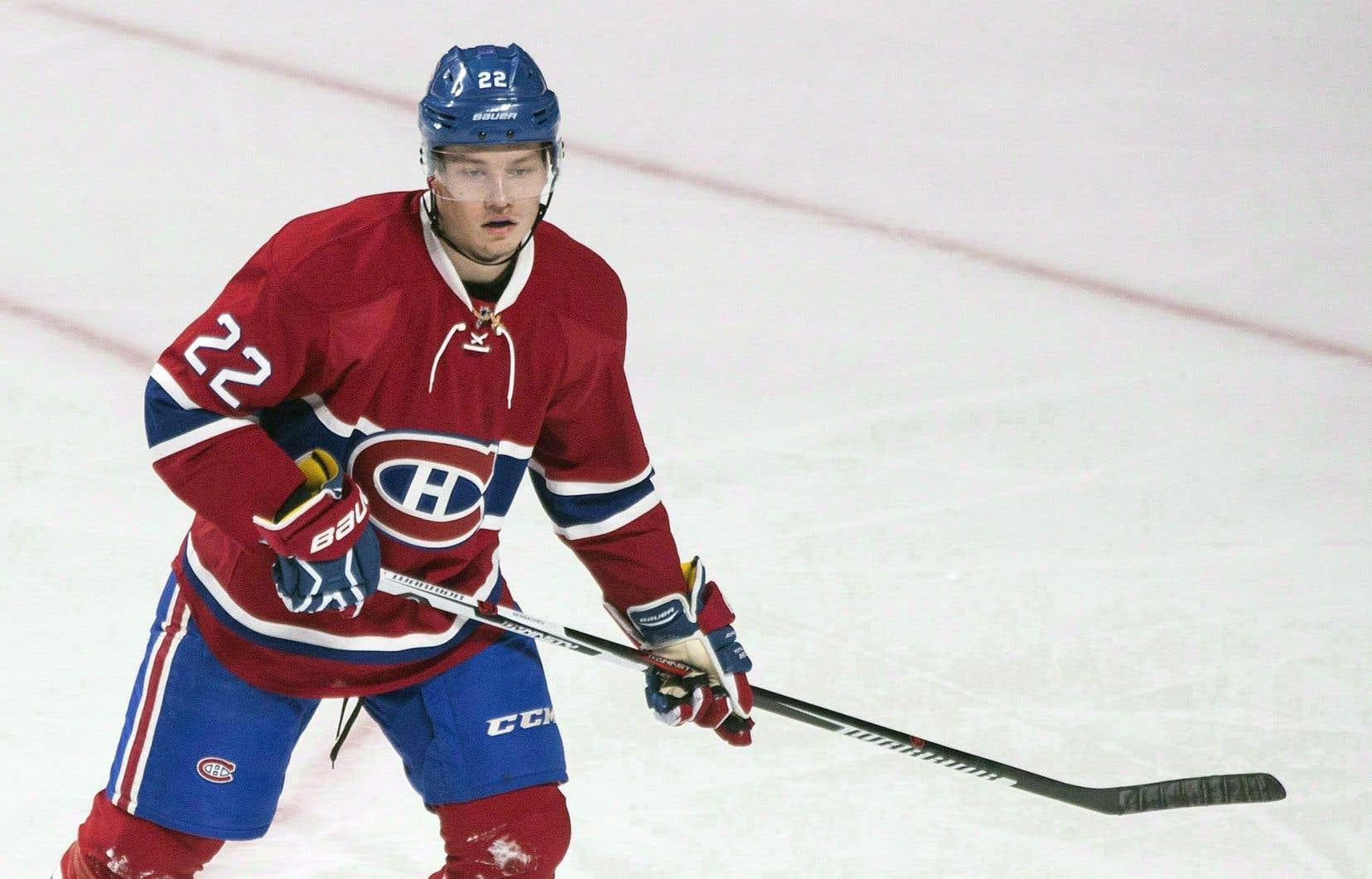 Mikhail Sergachev a pris part à trois matchs du Canadien avant de retourner à Windsor où l'attendait son équipe junior.