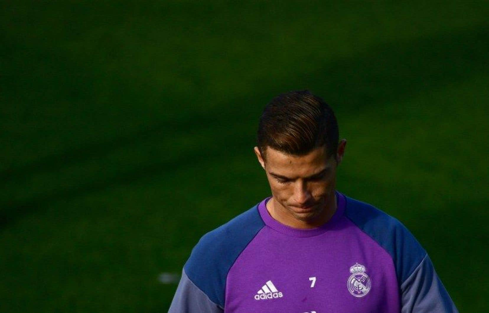 La vedette du Real Madrid Cristiano Ronaldo