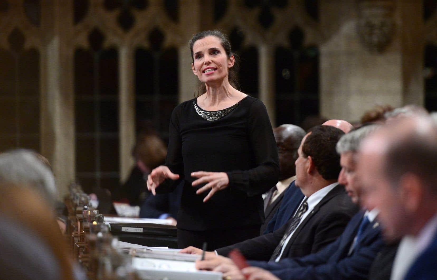 La ministre des Sciences du Canada, Kirsty Duncan