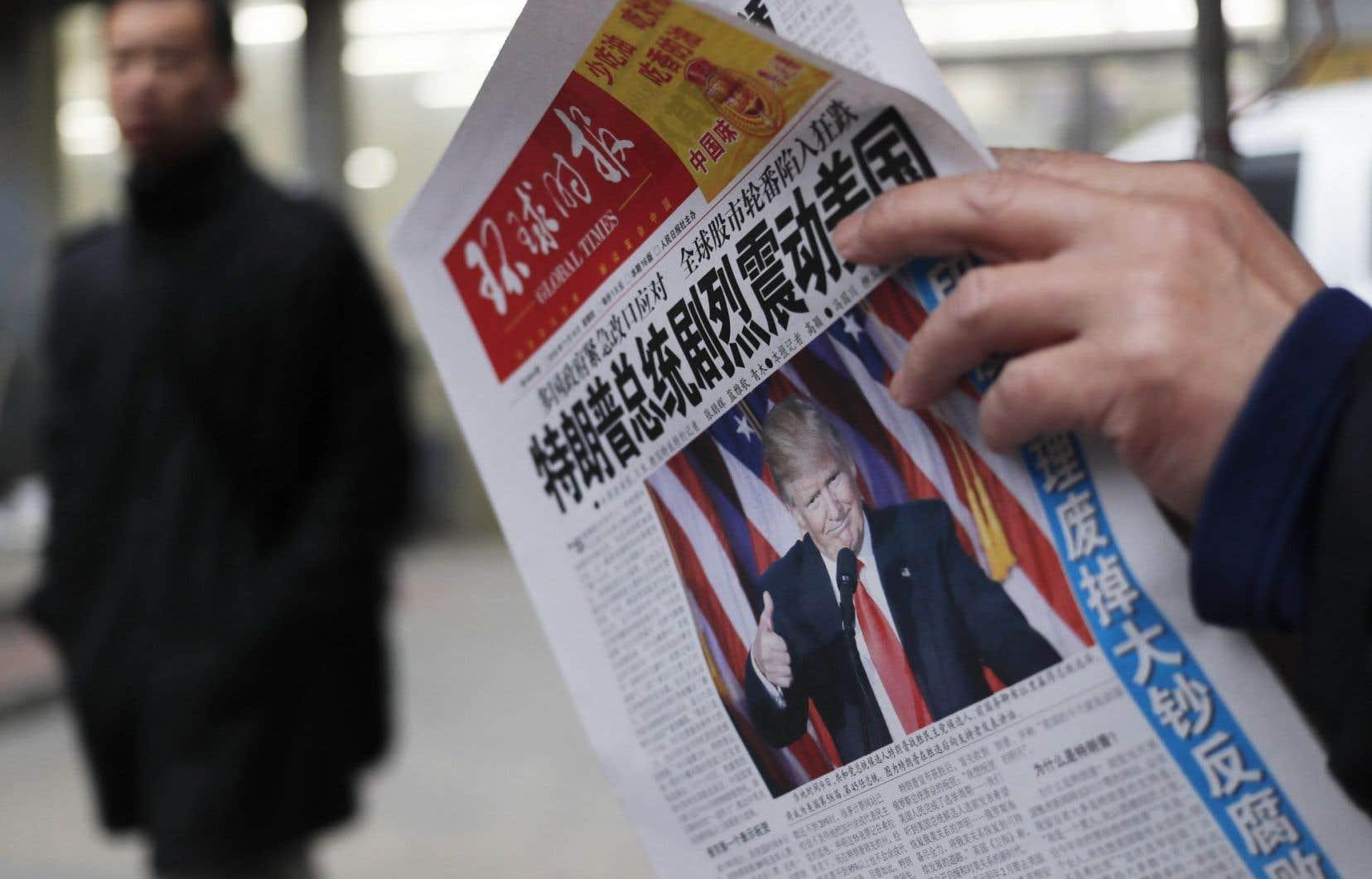 La presse chinoise s'alarme des positions de Donald Trump et l'accuse d'en sous-estimer les conséquences.