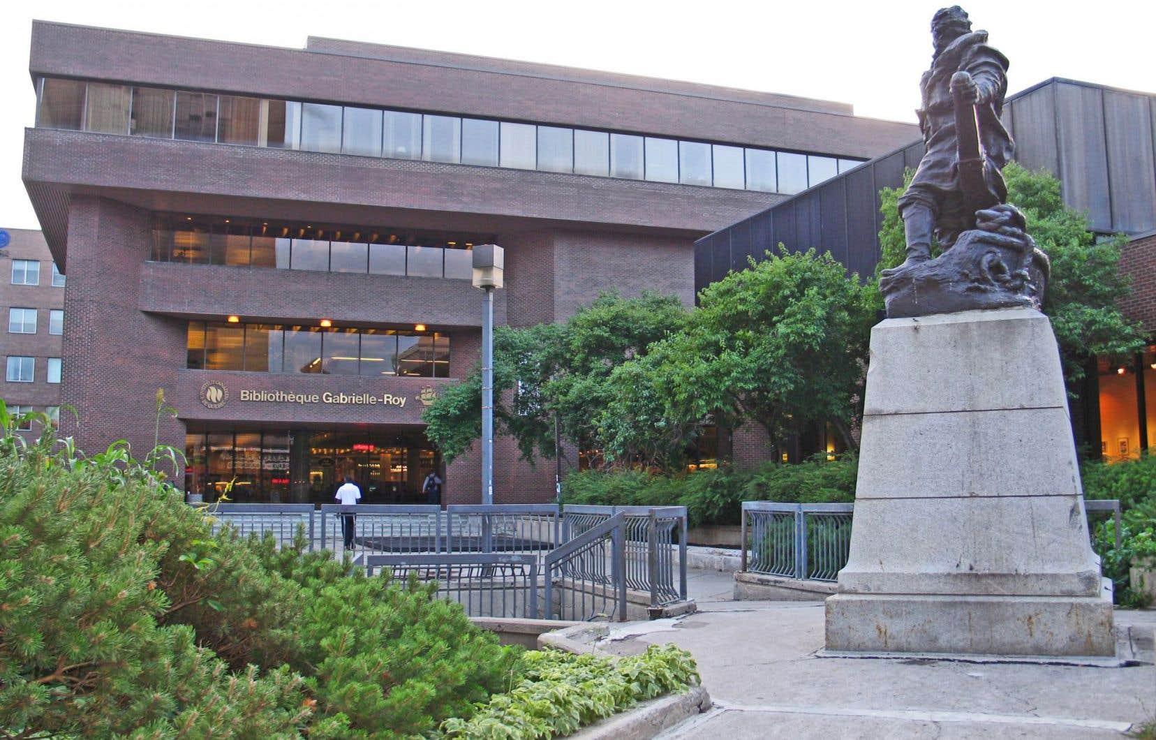 Pour chaque arrondissement de Québec, une bibliothèque est longuement ouverte, entre 55 et… 83heures. La bibliothèque Gabrielle-Roy a un horaire de 82heures par semaine.