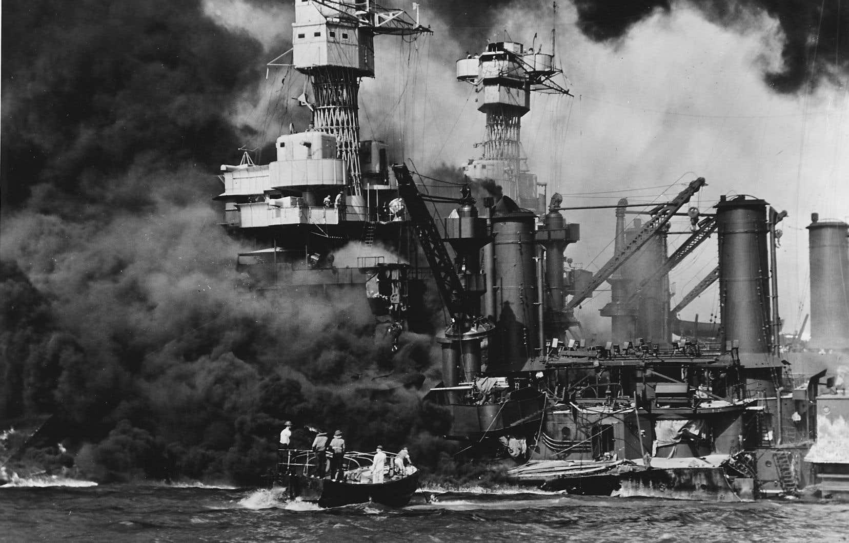 L'attaque contre la base militaire de Pearl Harbor