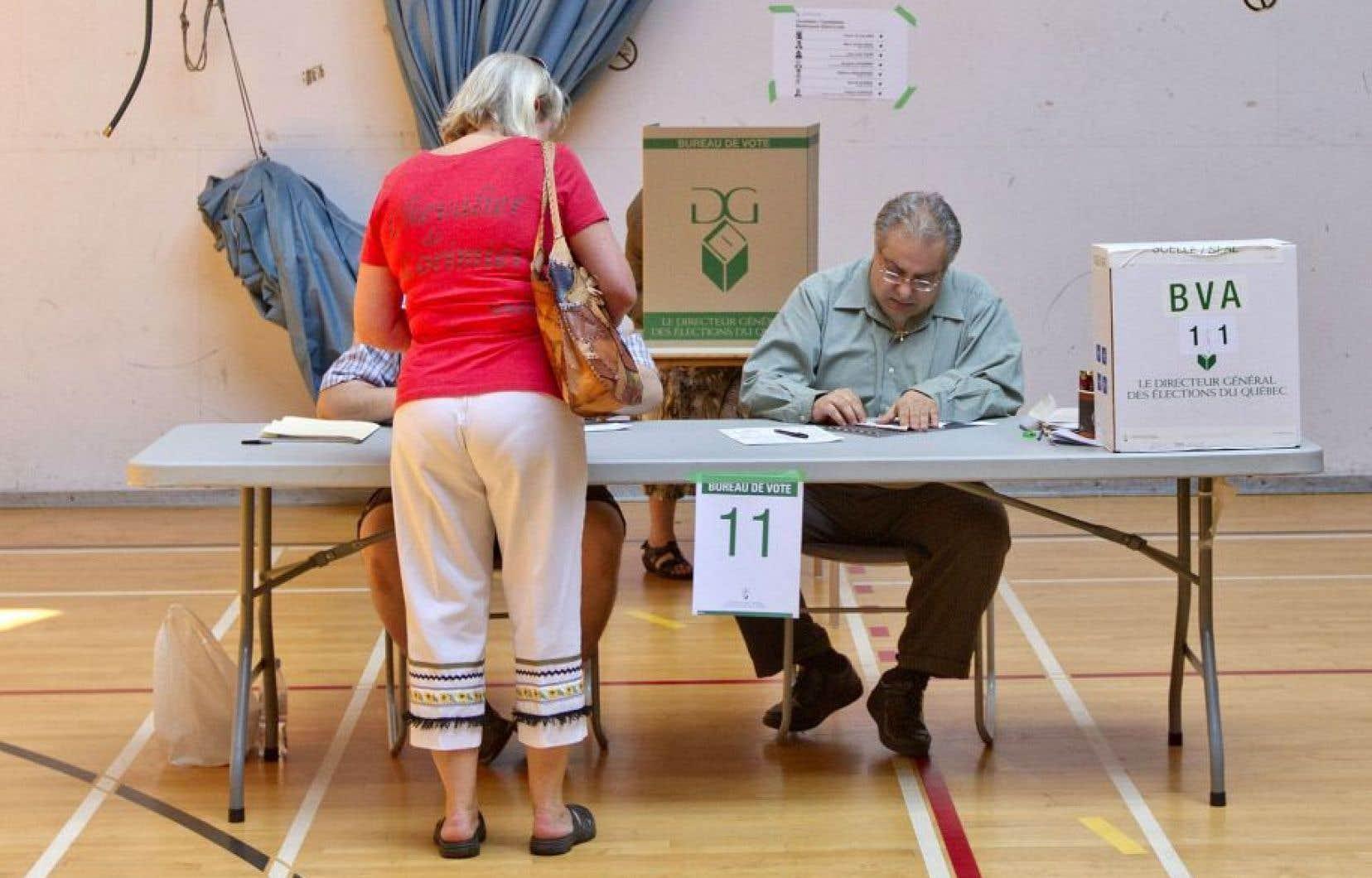 Lors de l'élection de 2014, le Parti libéral du Québec avait récolté 42 % des suffrages.