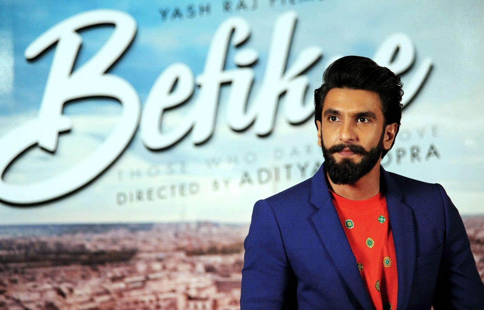 La jeune «star» montante de Bollywood Ranveer Singh