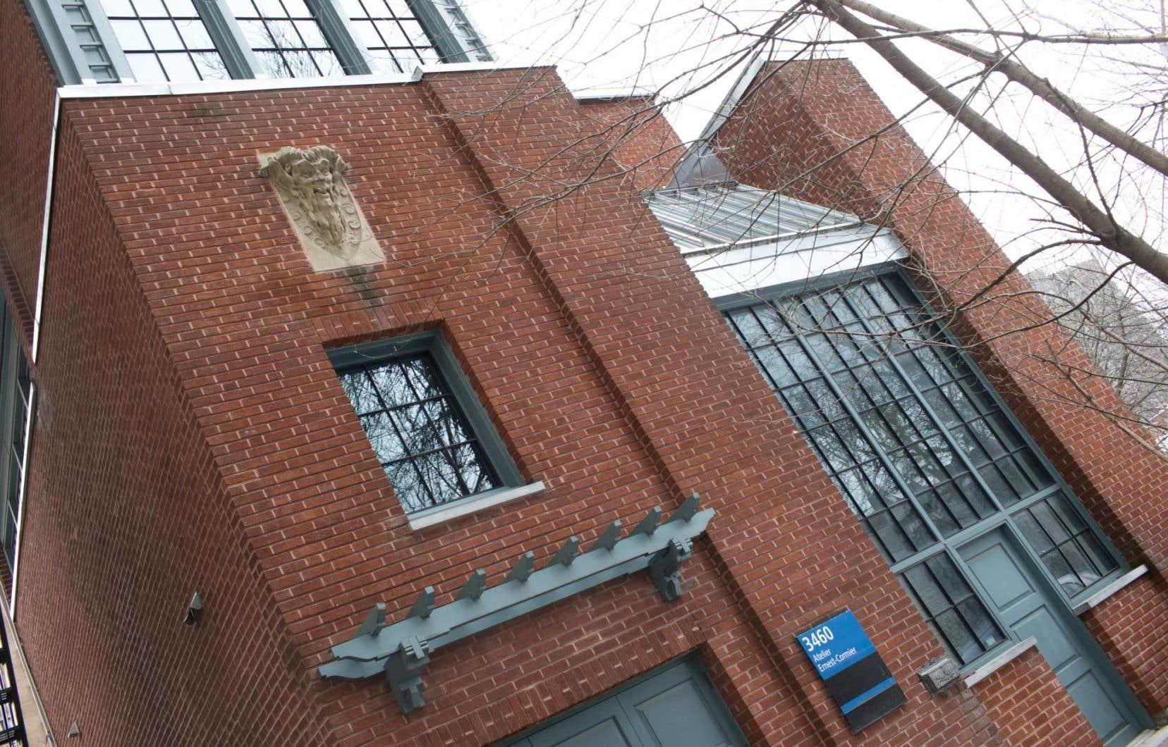 Le studio Ernest-Cormier a été construit en 1921 par cet architecte important, qui en fit son atelier.