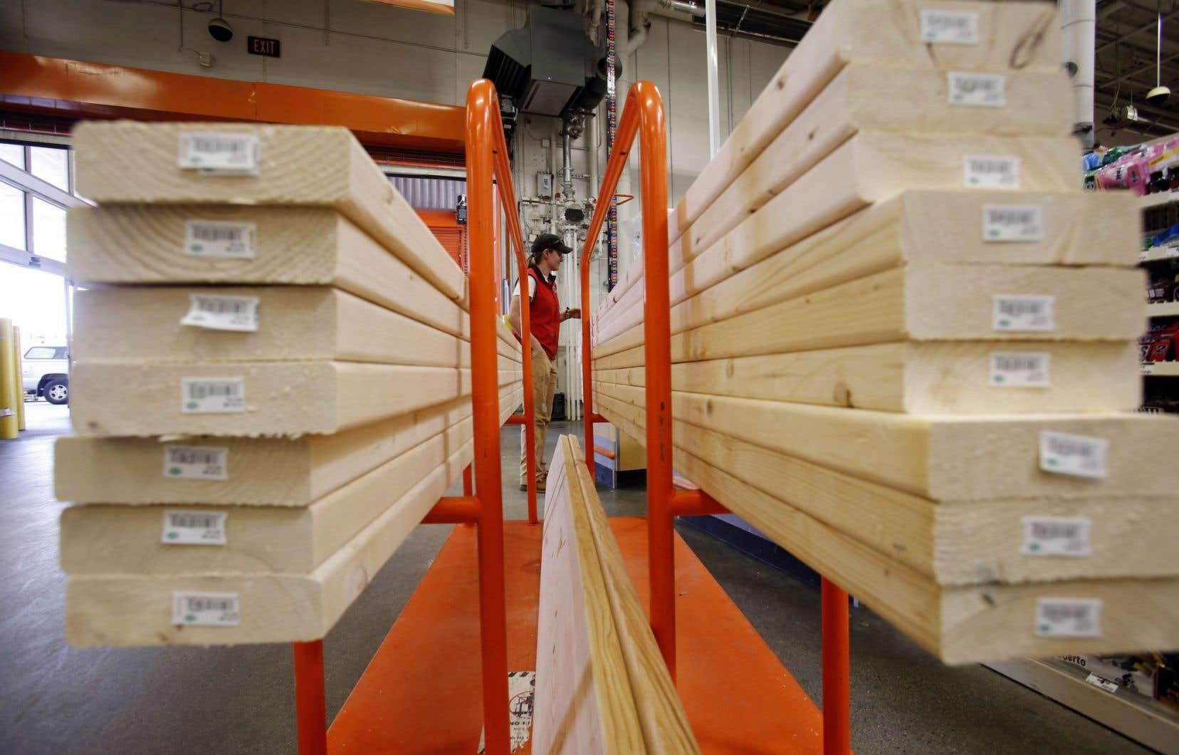 L'industrie américaine du bois d'oeuvre a entamé il y a près de deux semaines une nouvelle saga judiciaire, la cinquième en une vingtaine d'années, contre l'industrie canadienne.