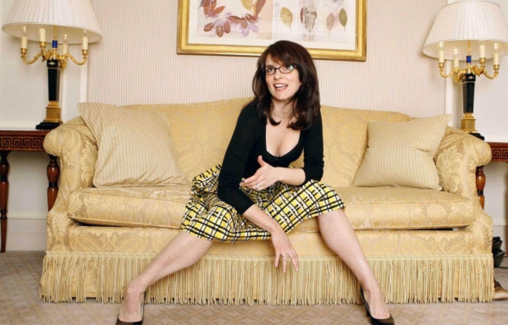 L'actrice et scénariste Tina Fey, bien connue pour 30 Rock et sa parodie de Sarah Palin, a été nommée parmi les geeks de l'année 2008 par le magazine Wired.