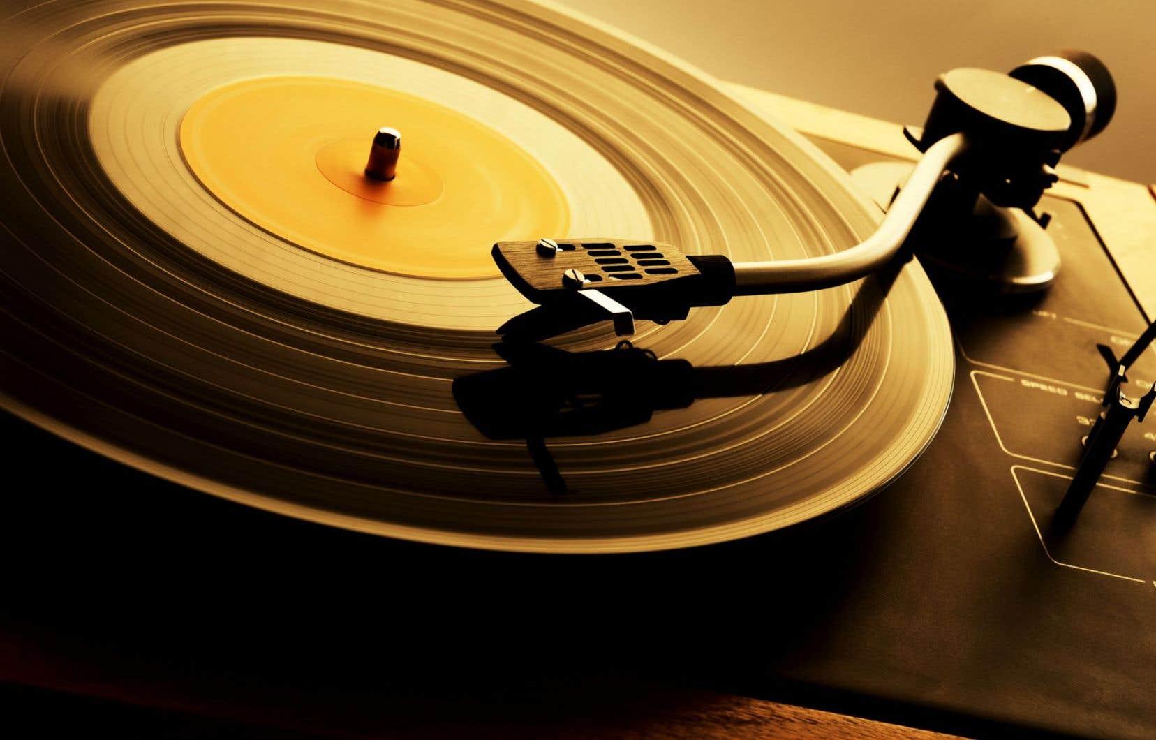 Au Canada, les ventes de vinyles sont aussi en hausse.