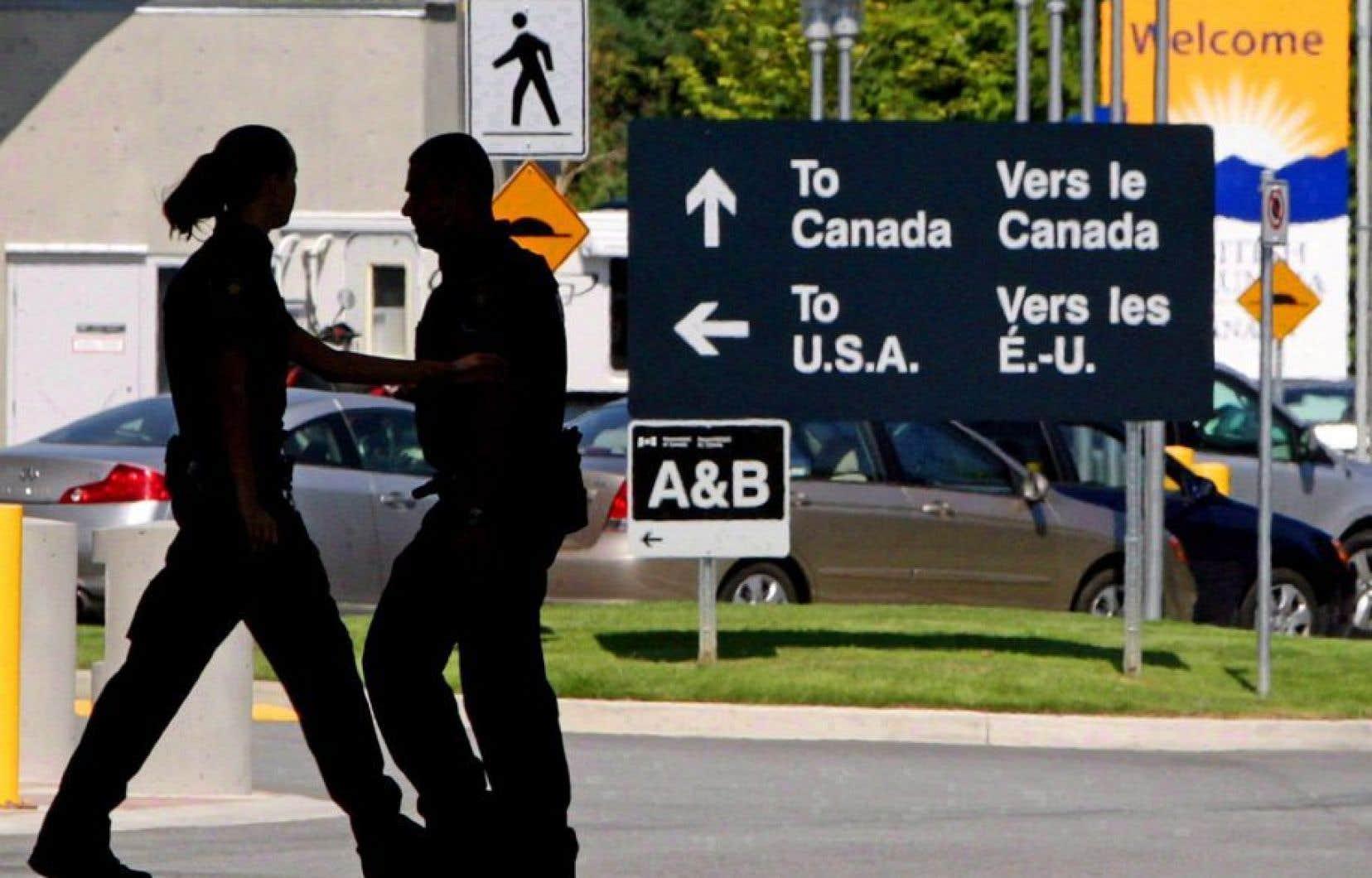 Des bureaux de douanes américaines seront conçus du côté canadien de la frontière.