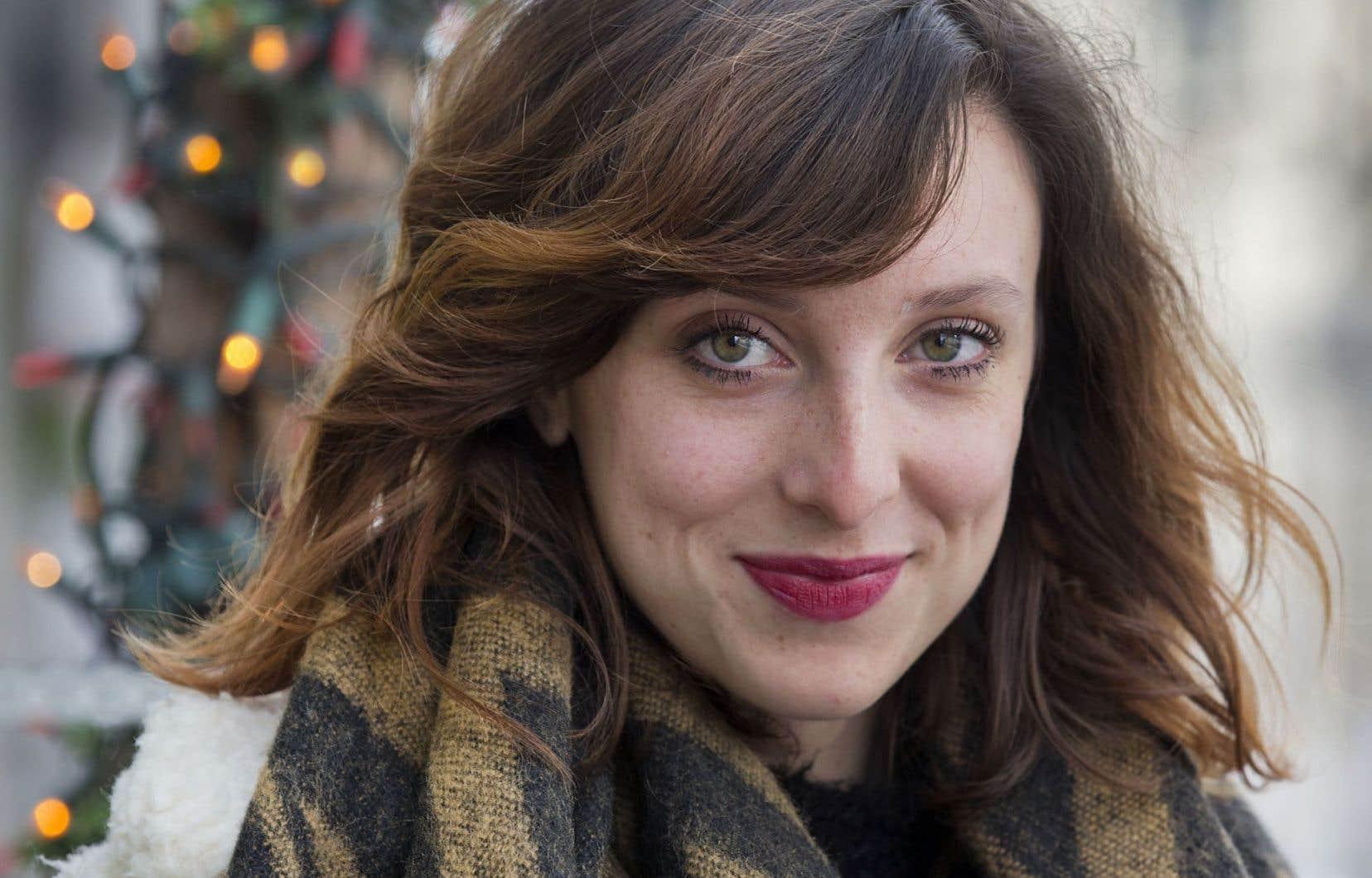 Sarah-Maude Beauchesne, auteure des livres «Coeur de slush» et «Lèche-vitrines» et créatrice du blogue Les fourchettes