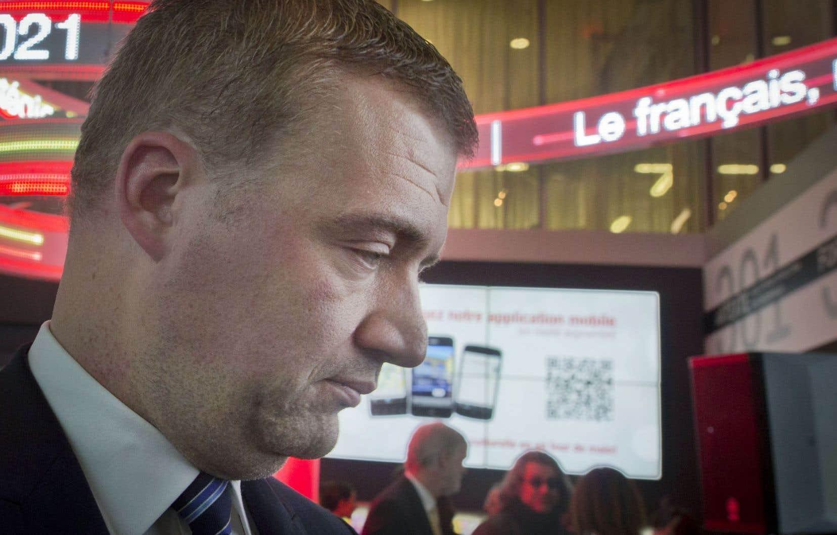 Le ministre responsable de la Protection et de la Promotion de la langue française, Luc Fortin, a dévoilé lundi la Stratégie partenariale de promotion et de valorisation de la langue française 2016-2021 de son gouvernement.