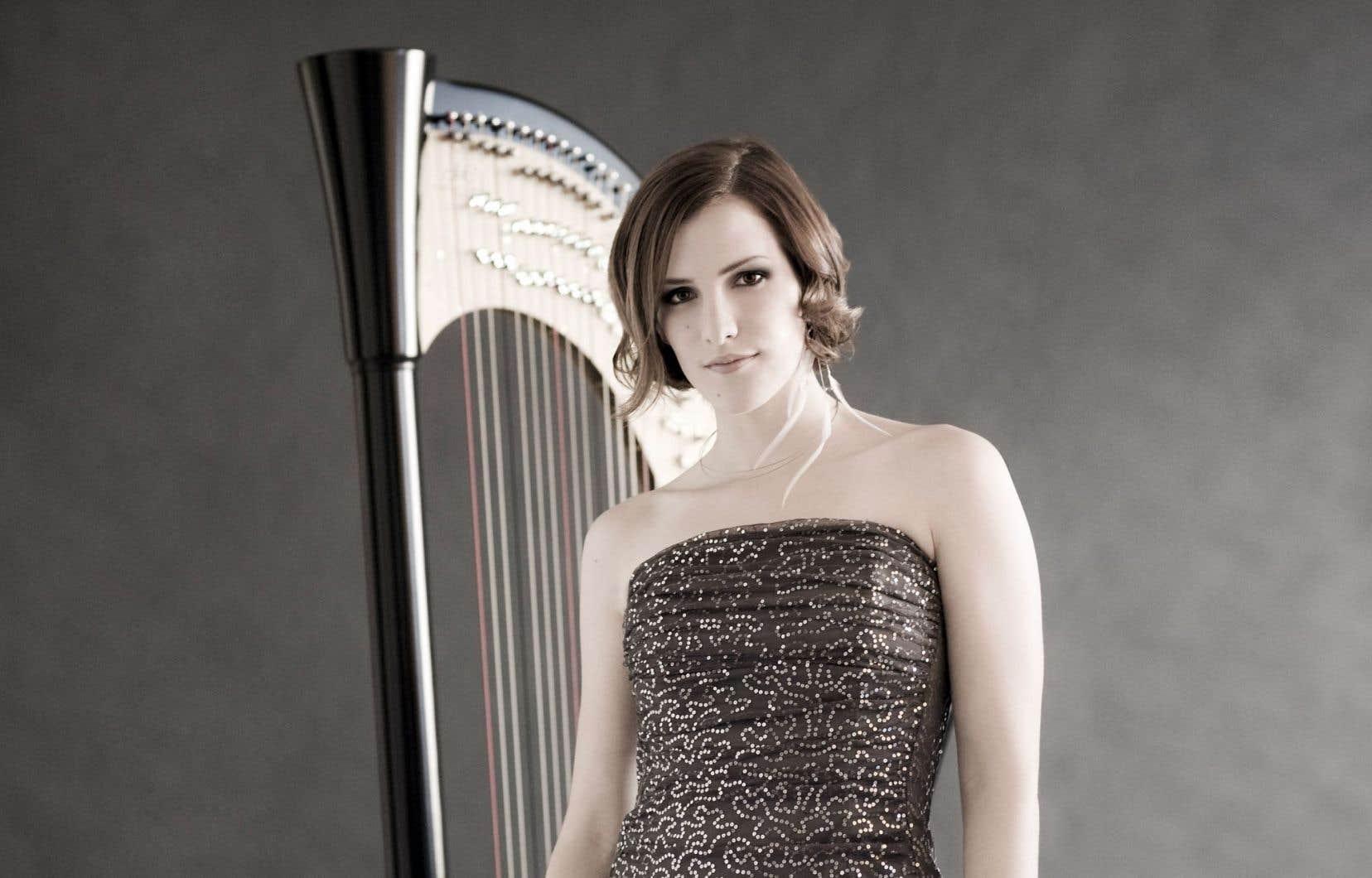 Valérie Milot se montre une fois de plus sous le jour d'une harpiste de classe mondiale.