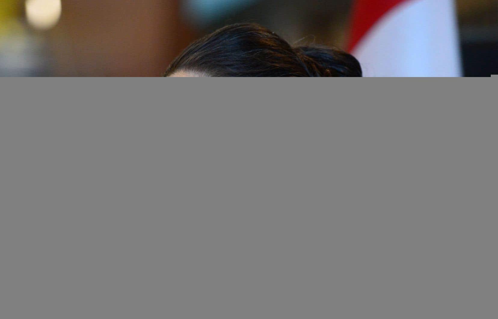 La ministre des Sciences, Kirsty Duncan, a précisé jeudi la nouvelle stratégie fédérale en matière d'amiante.