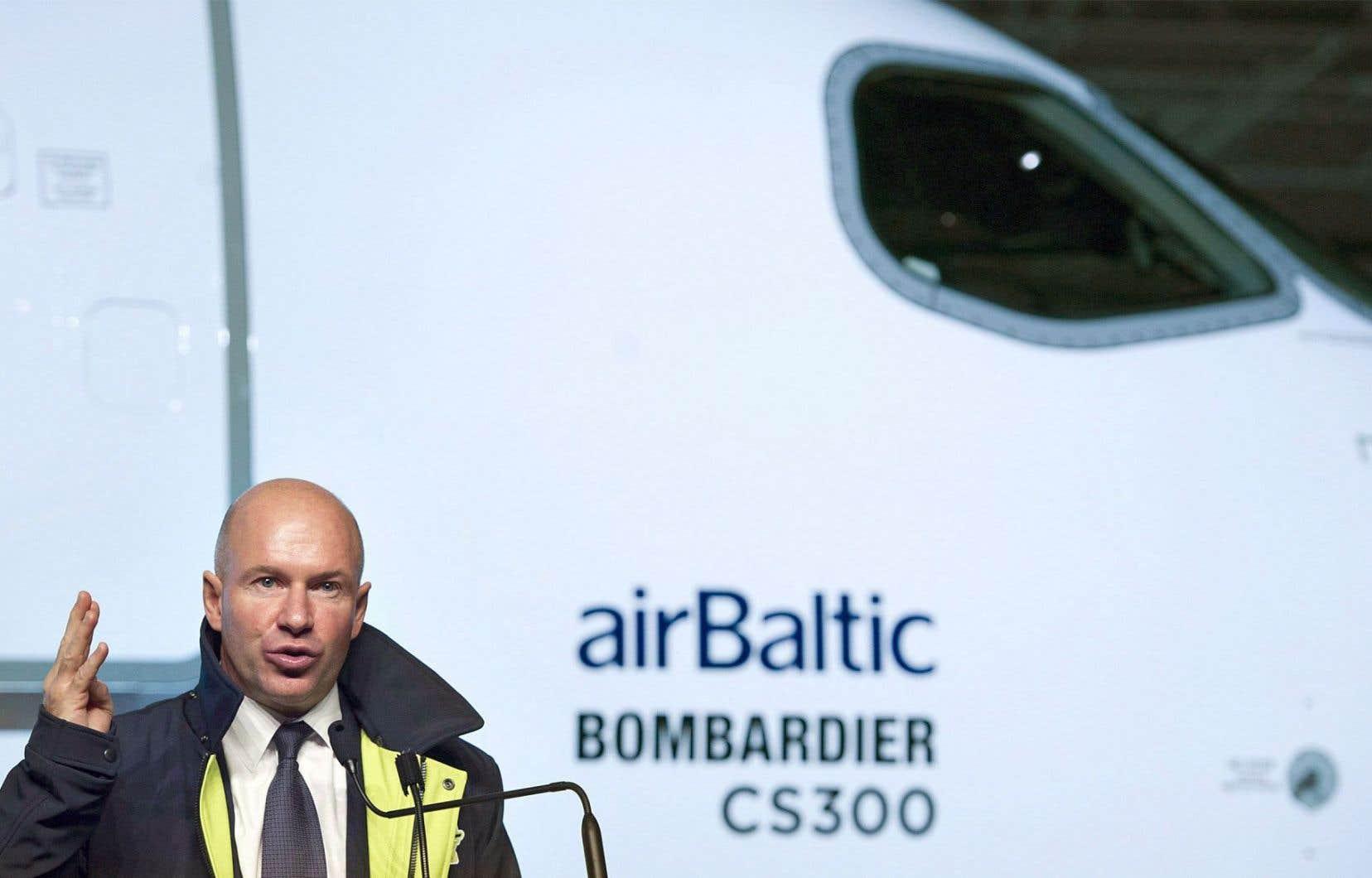Le chef de la direction de Bombardier, Alain Bellemare
