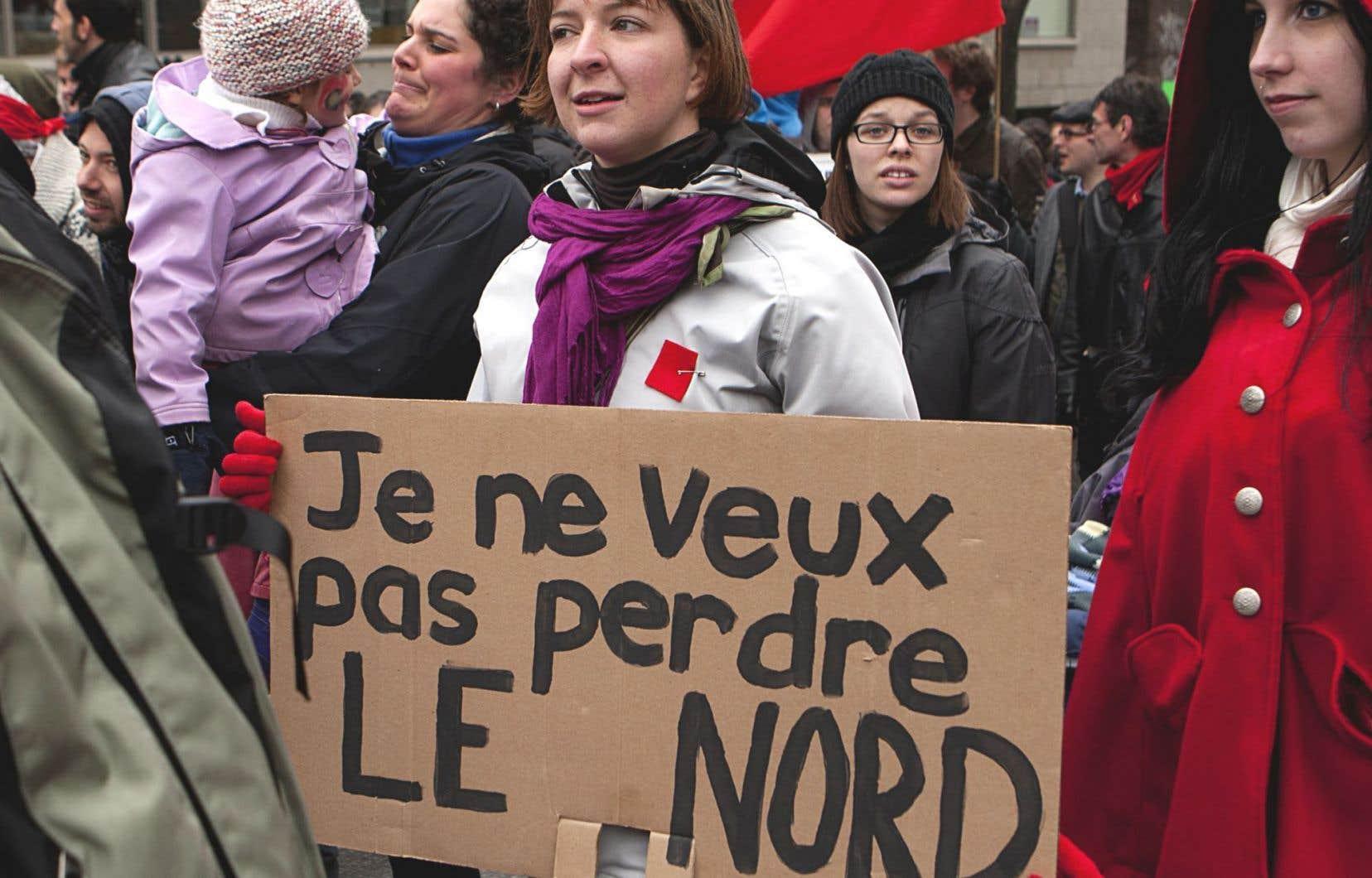 Jessica Gosselin s'interroge sur l'absence d'analyse différenciée entre les sexes dans l'élaboration du Plan Nord.