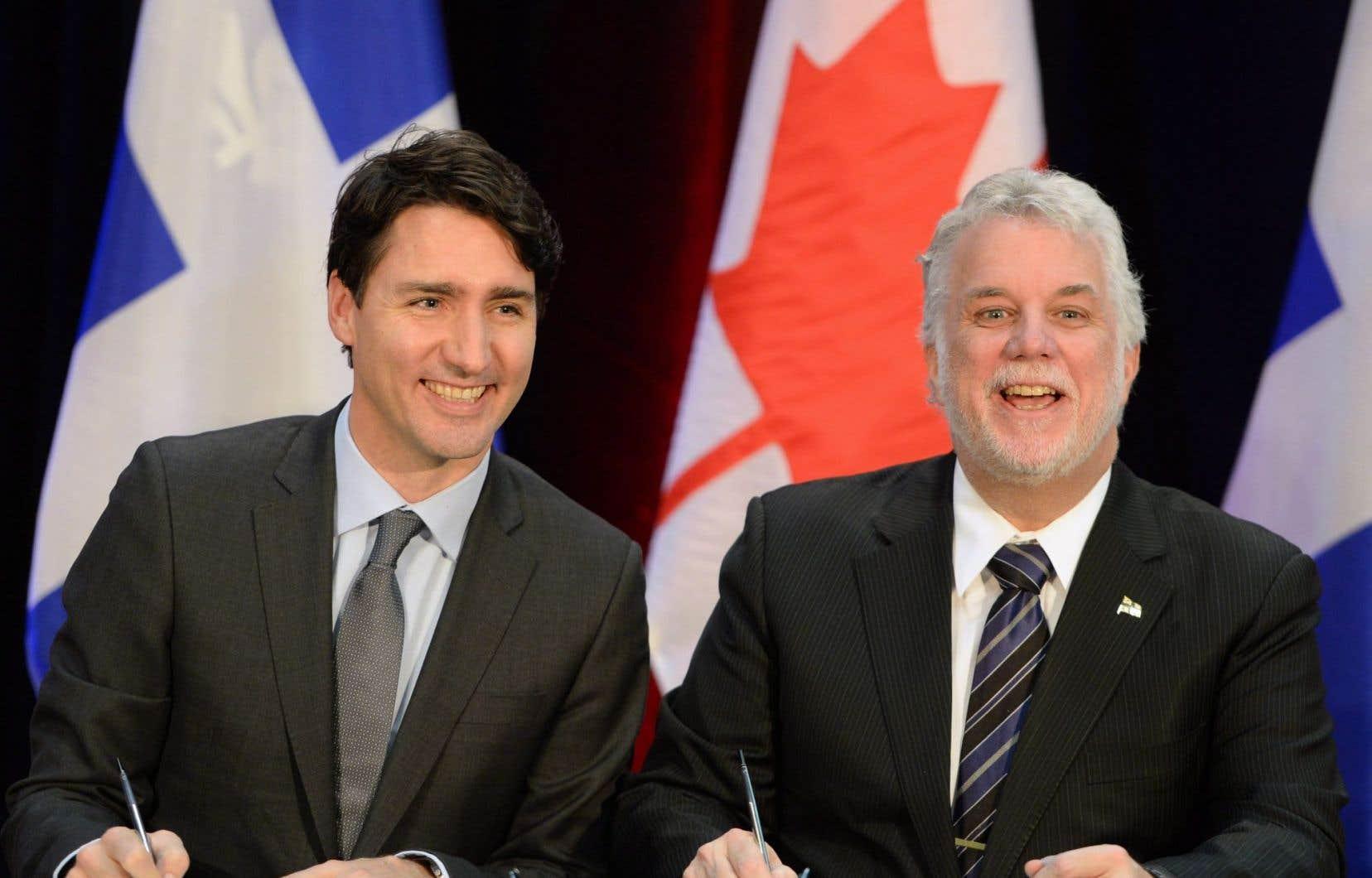 <p>Ottawa investit 385millions et Québec 345millions, ont annoncé les premiers ministres Justin Trudeau et Philippe Couillard.</p>
