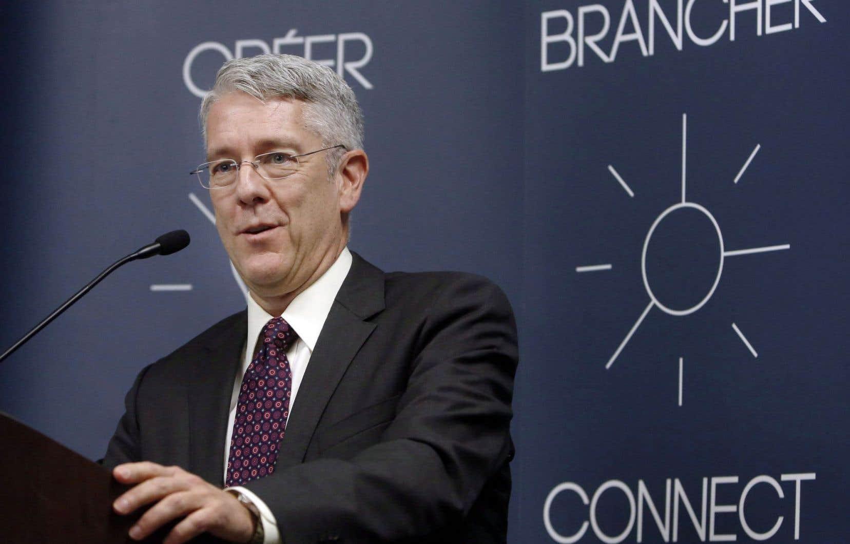 Jean-Pierre Blais a dévoilé le plan du CRTC, mercredi, à Gatineau.