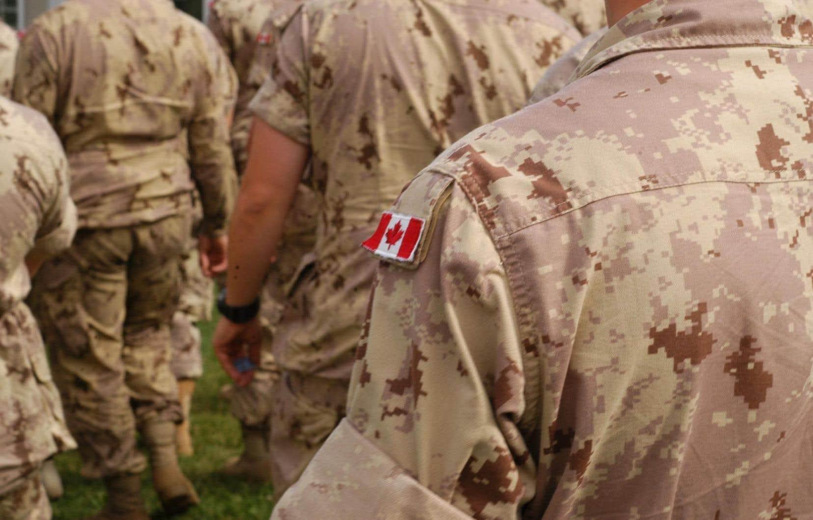 Trois ex-militaires ont déposé une requête devant la Cour fédérale, le 14décembre, à Halifax.