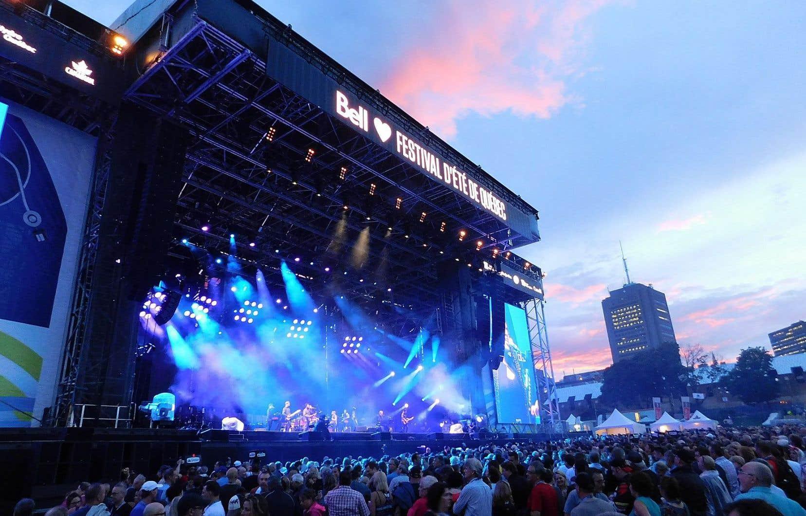 Le Festival d'été de Québec et ses grands spectacles, un attrait indéniable pour les visiteurs