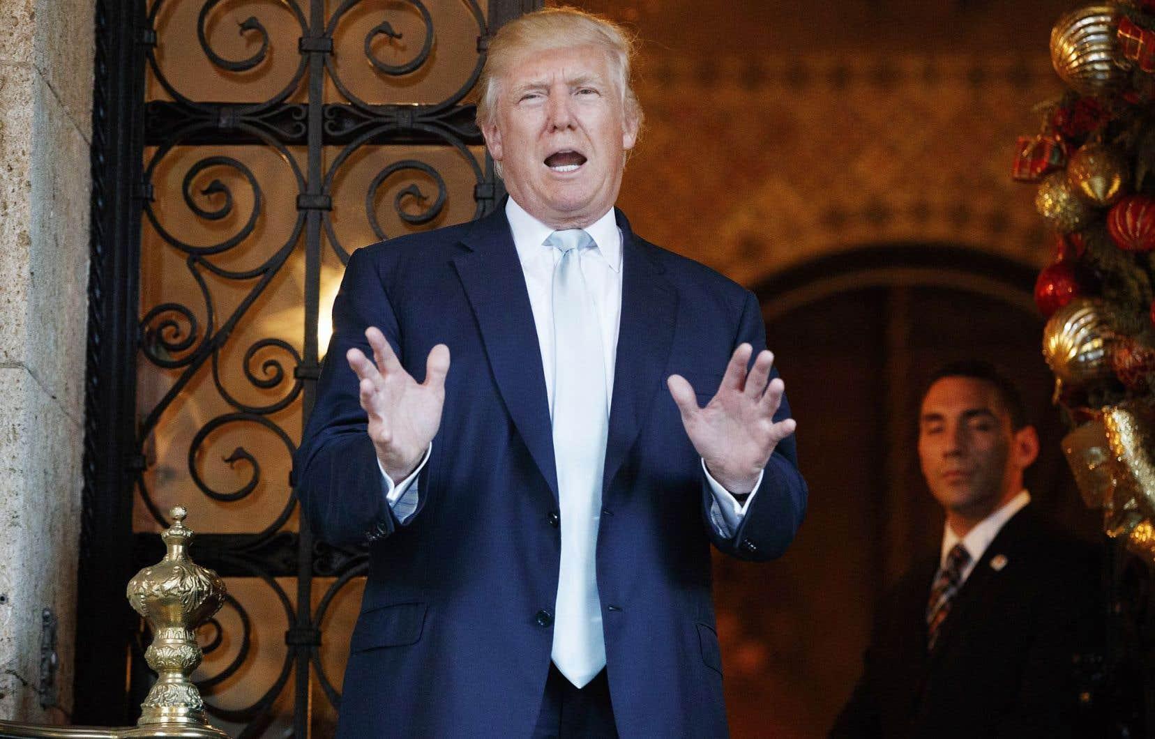 Donald Trump a souligné que l'entente avec Sprint se faisait par l'intermédiaire de SoftBank, dirigé par le milliardaire japonais Masayoshi Son.