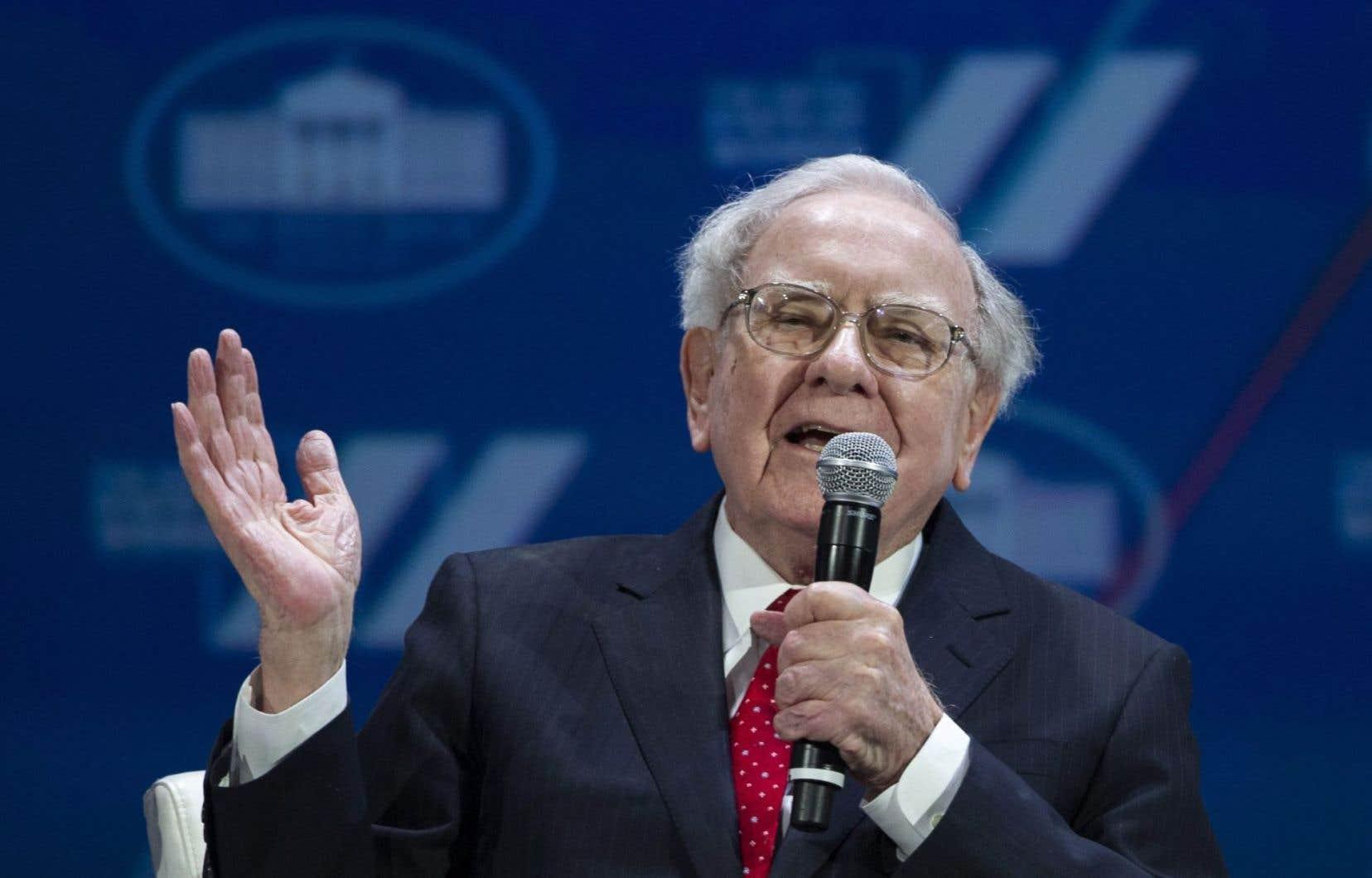 L'investisseur américain Warren Buffett a vu ses coffres s'engraisser de 11,8milliards, plus que quiconque.