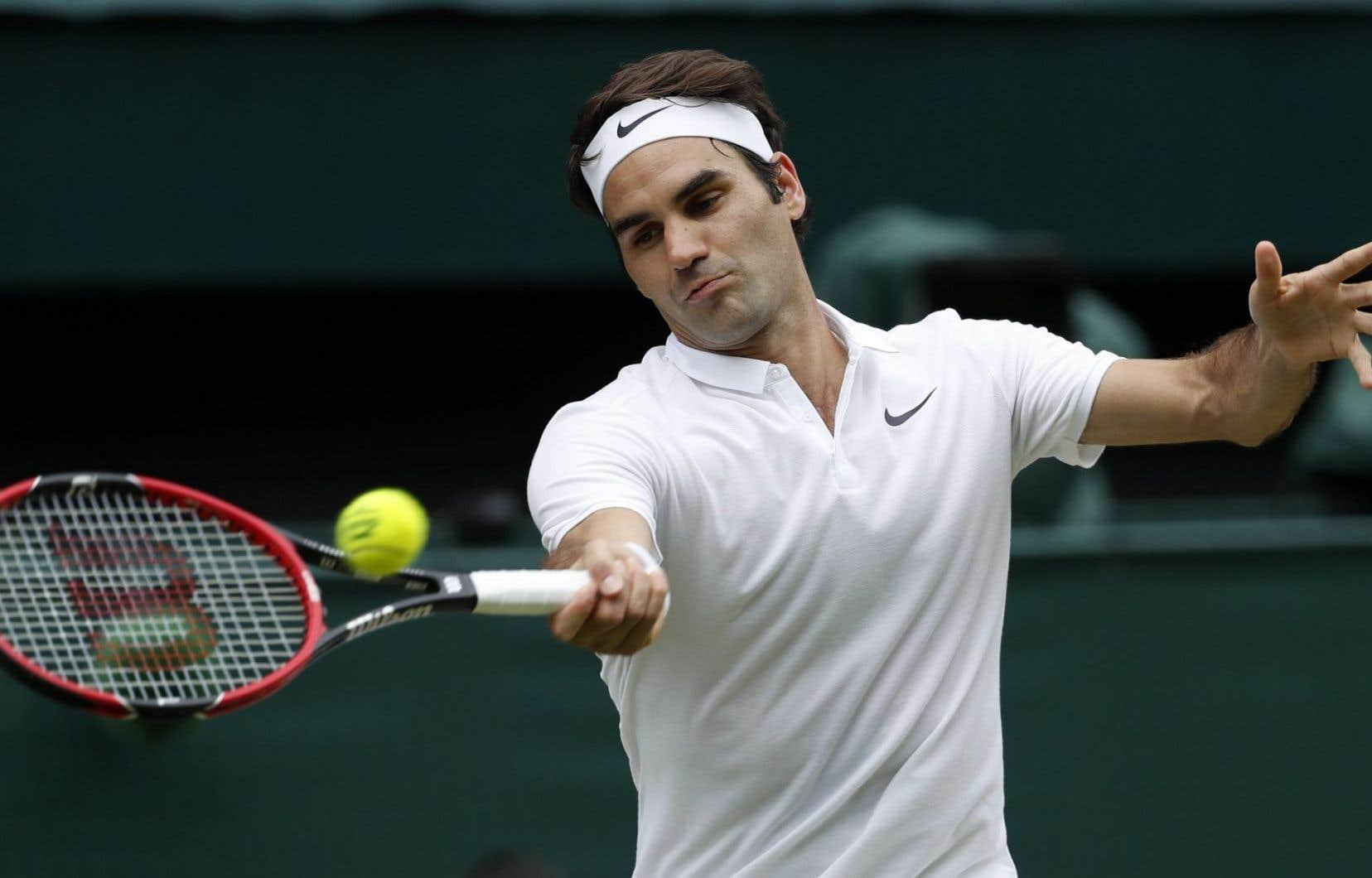 Roger Federer, en juillet 2016