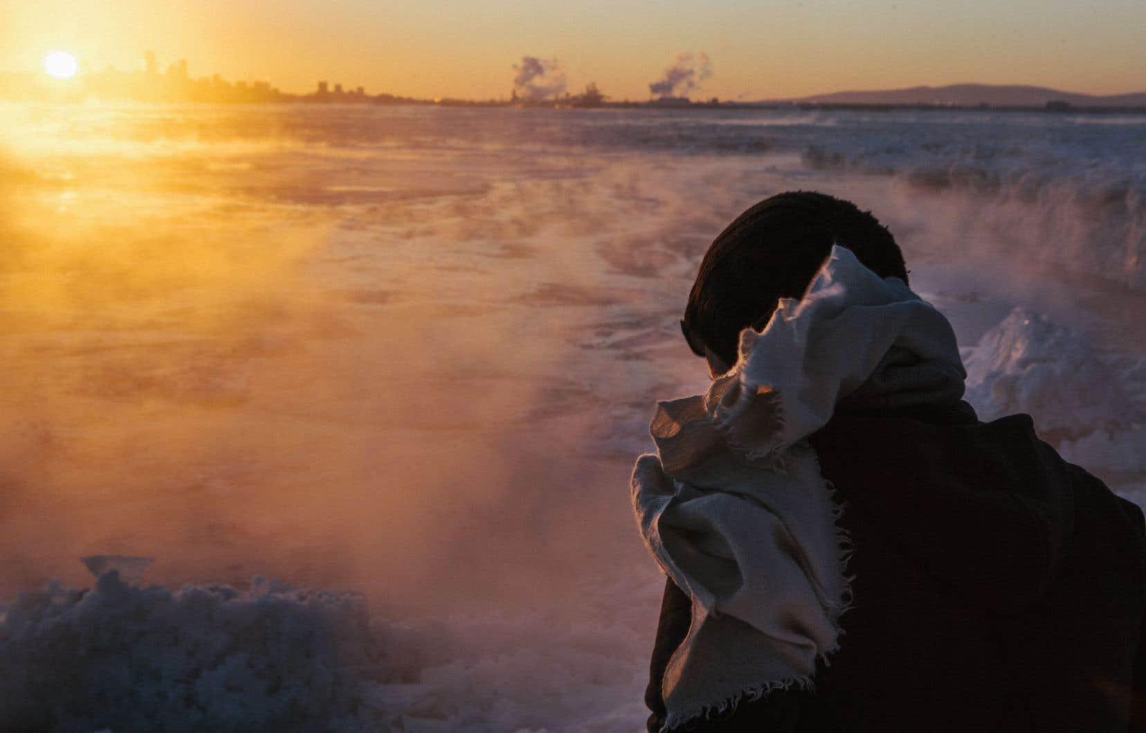 «Pour moi, la neige représente surtout un moment d'arrêt, explique Christian Guay-Poliquin. Quand la neige s'accumule sur un paysage, sur une région, toute la vie organique s'arrête.»