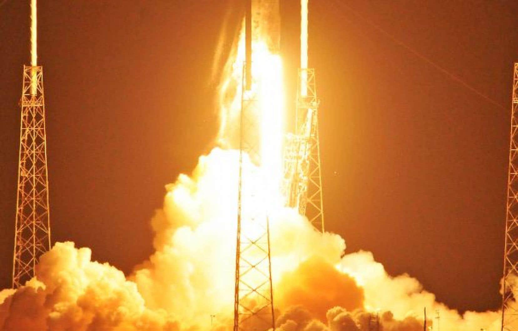 Lancement réussi réalisé par SpaceX en juillet2016