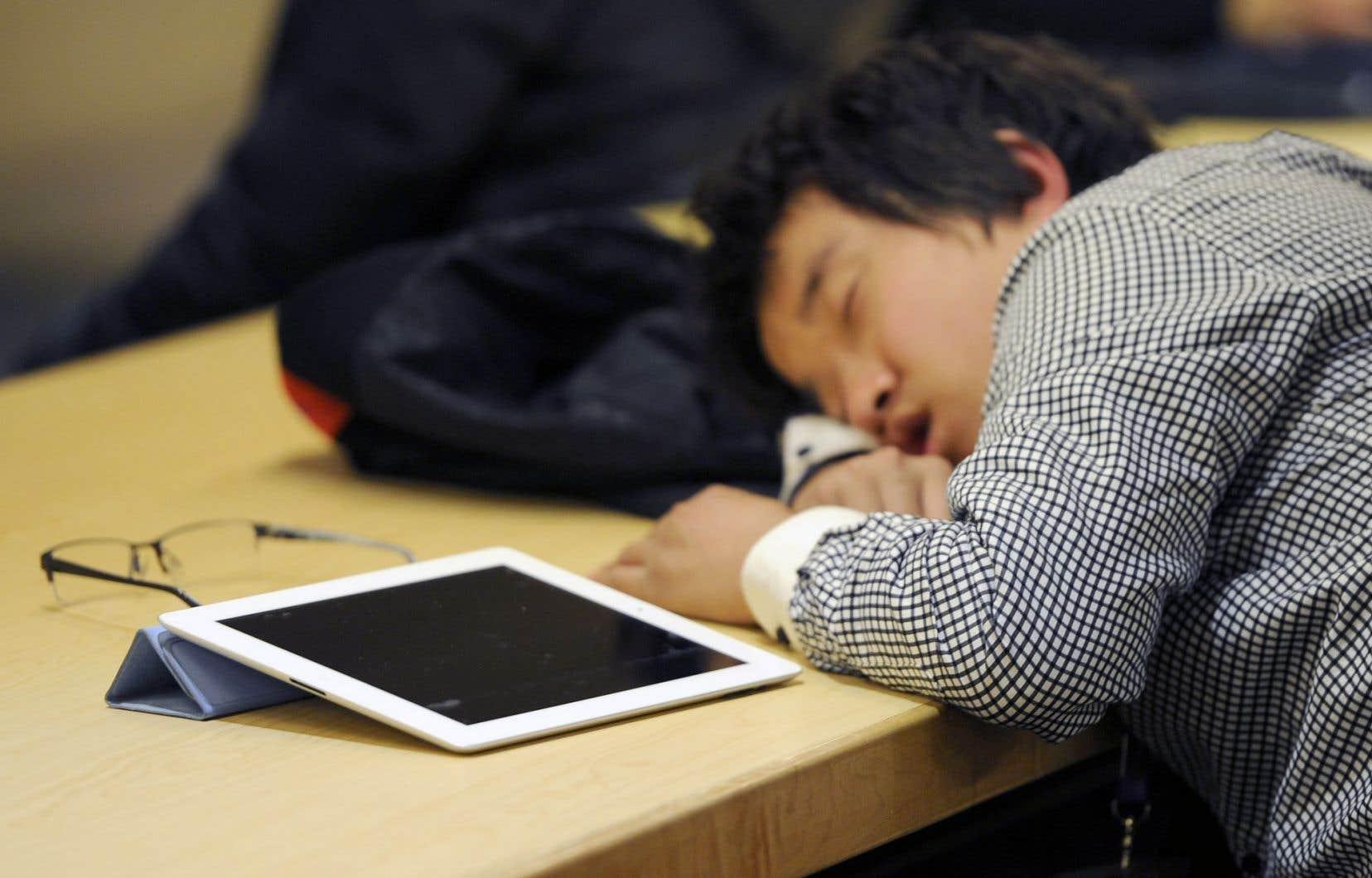 <p>Le déclin des facultés mentales était de quatre à six fois plus important chez les participants qui ne dormaient pas.</p>