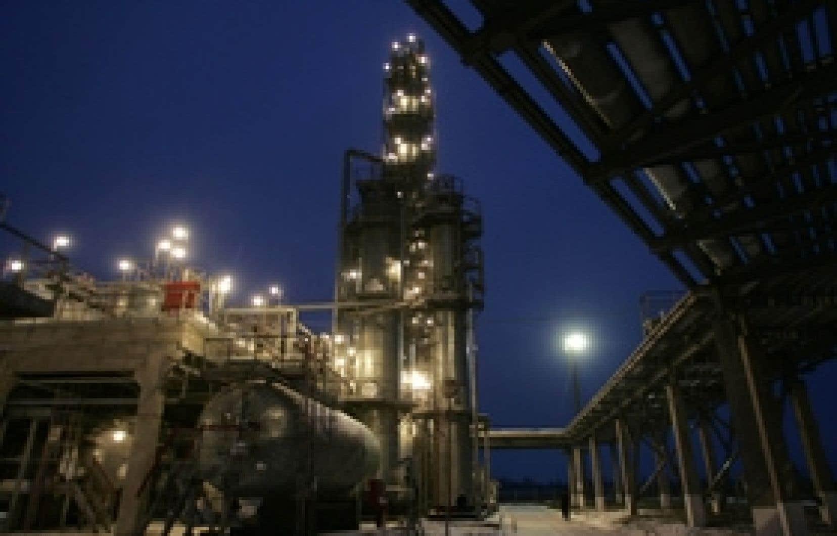 Un contrat pour les livraisons de gaz russe à Kiev l'an prochain pourrait être signé avant le 1er janvier, date limite de l'accord actuel, a estimé Naftogaz, dont on voit ici les installations à l'est de Kiev.
