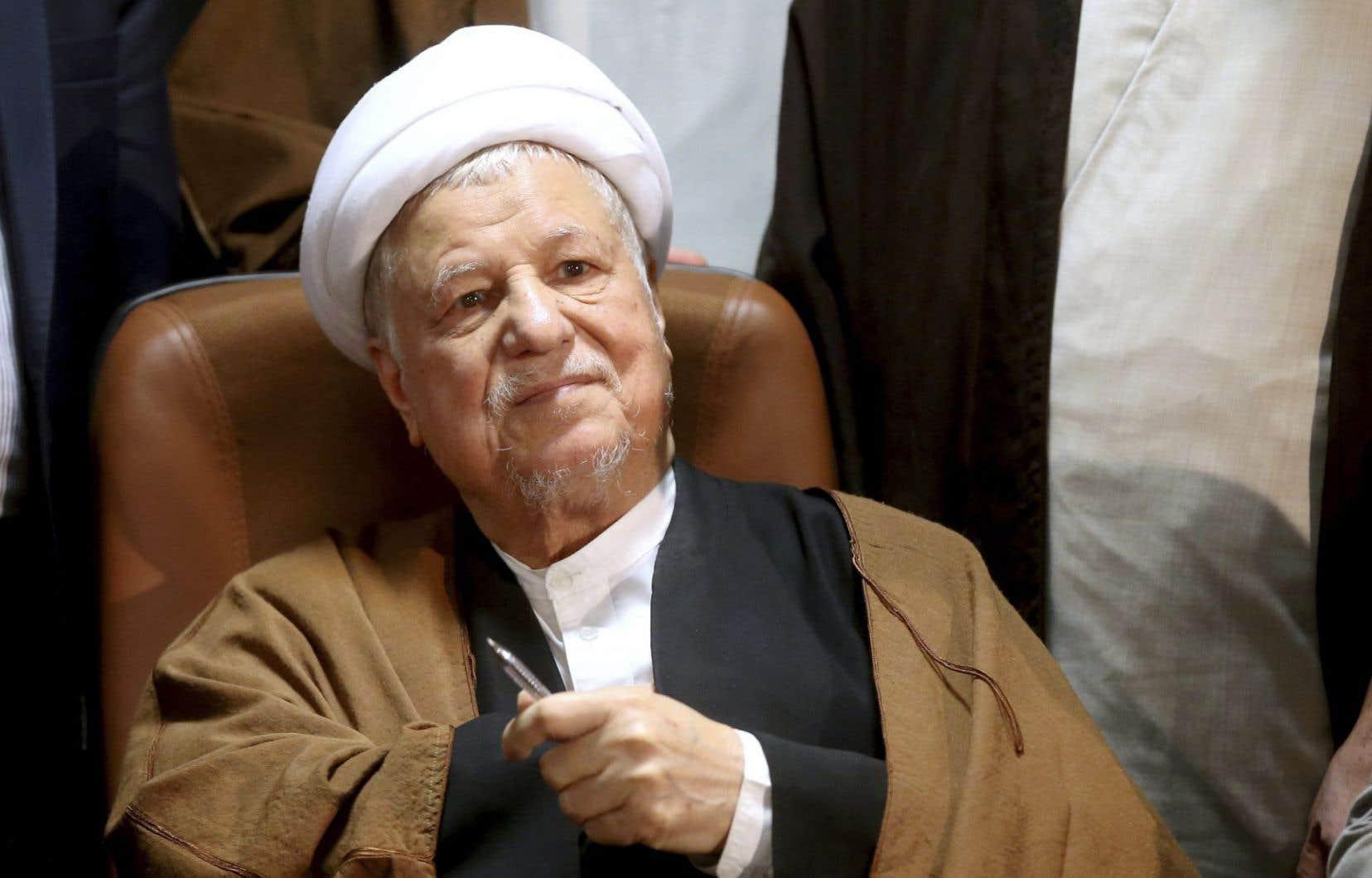 L'ex-président iranien Ali Akbar Hashemi Rafsanjani